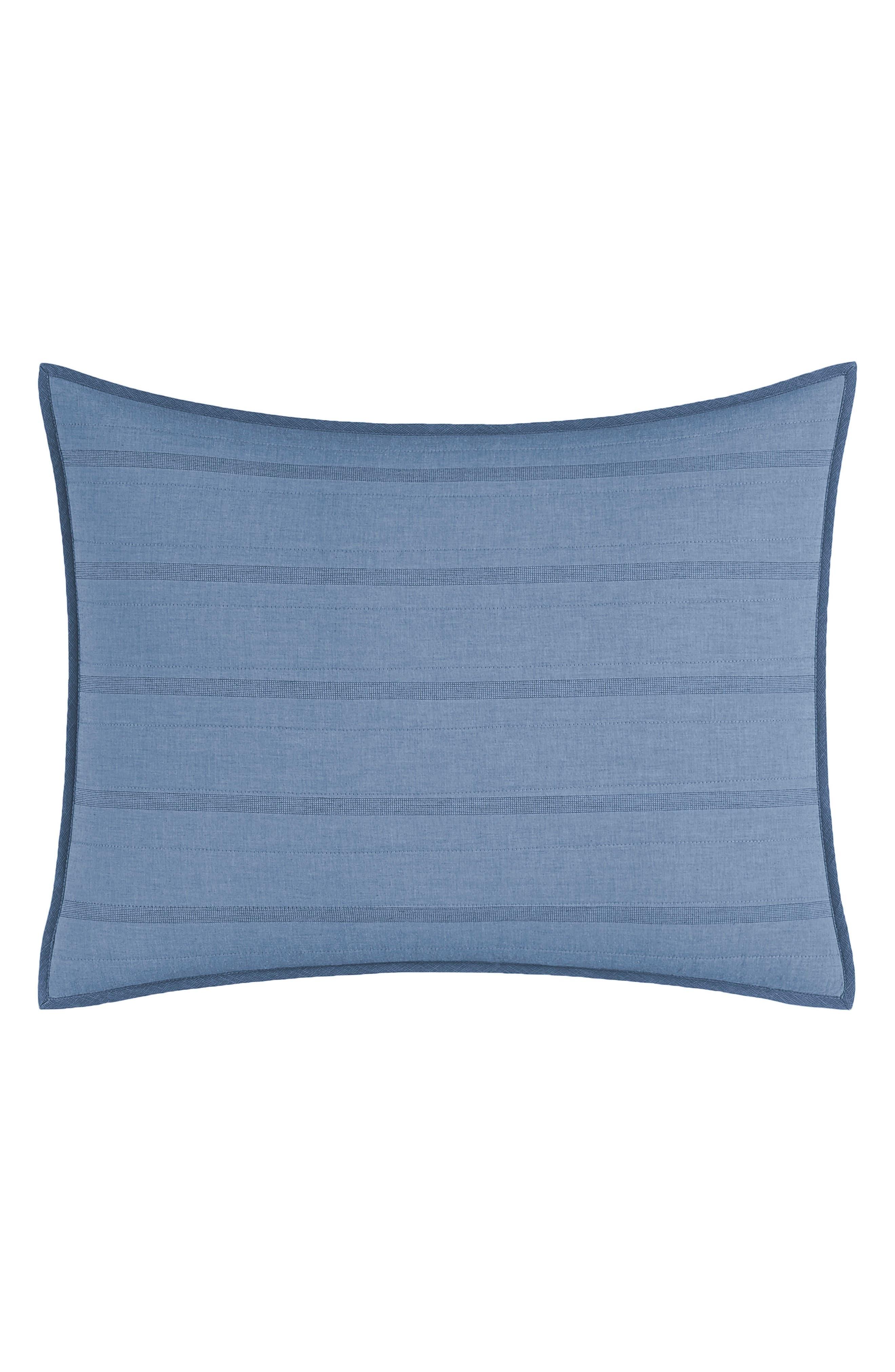 Buchanan Sham,                         Main,                         color, Medium Blue