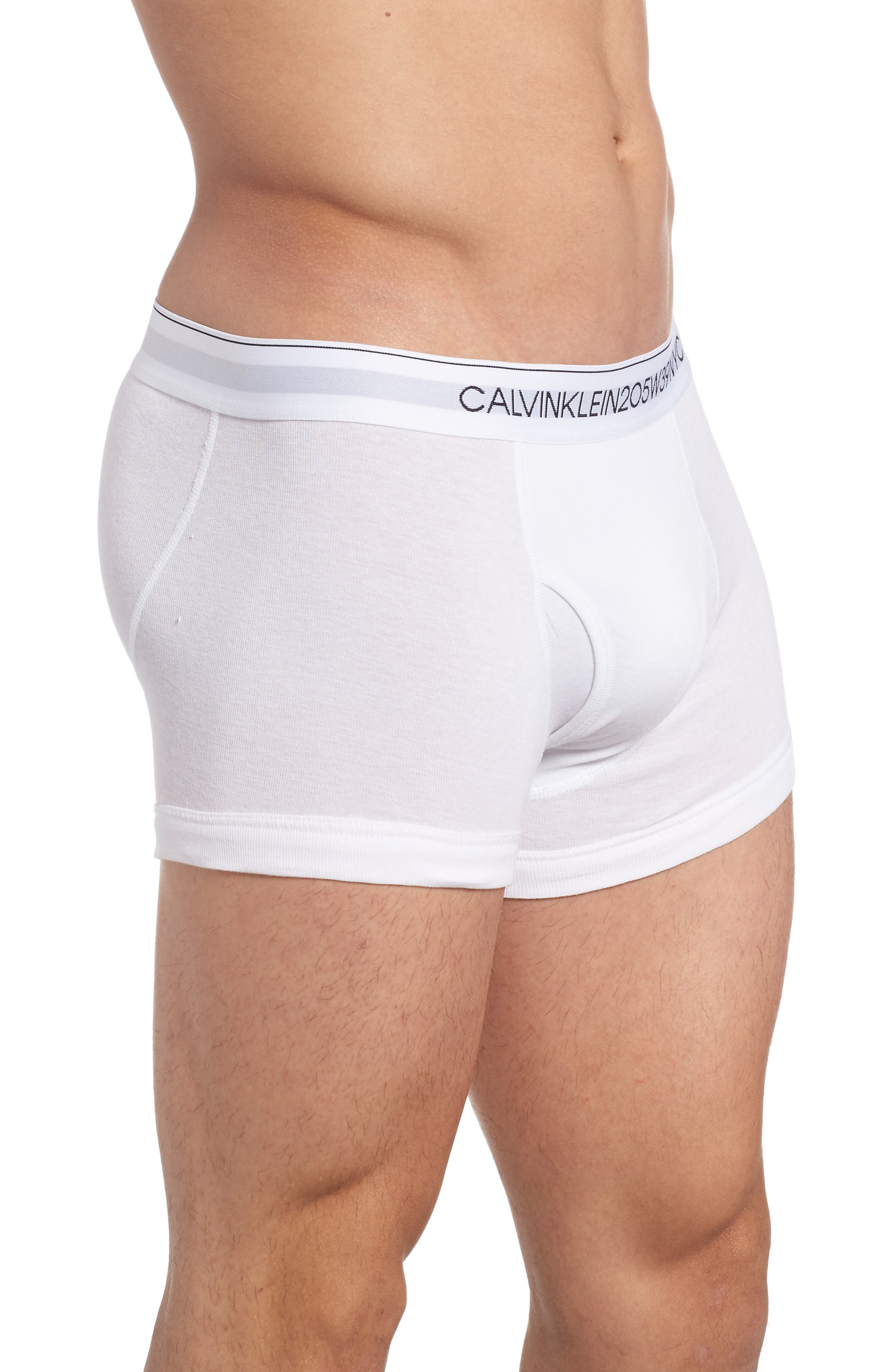 Alternate Image 2  - Calvin Klein 205W39NYC Collection Cotton Trunks