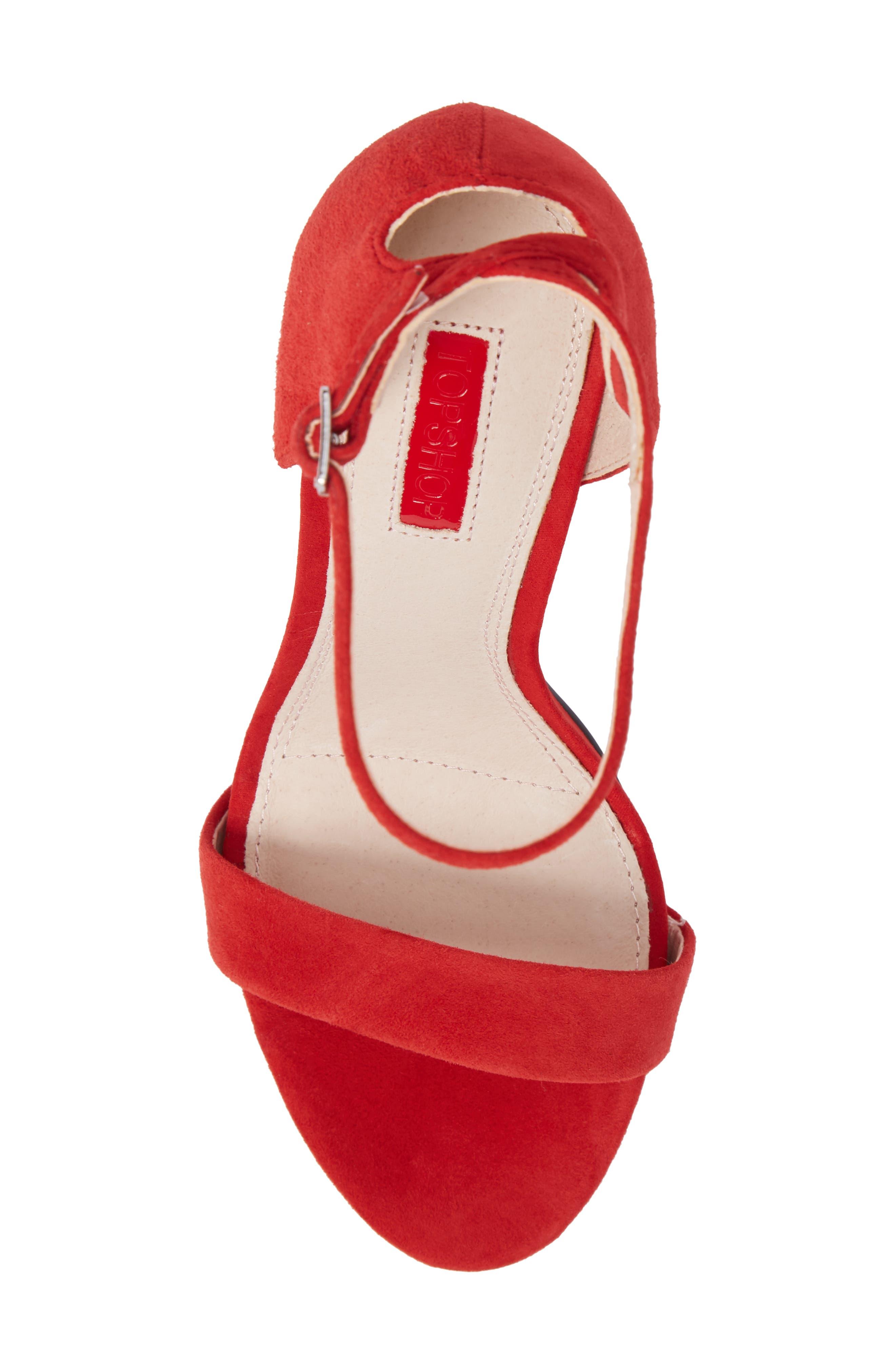 Alternate Image 5  - Topshop Raphie Ankle Strap Sandal (Women)