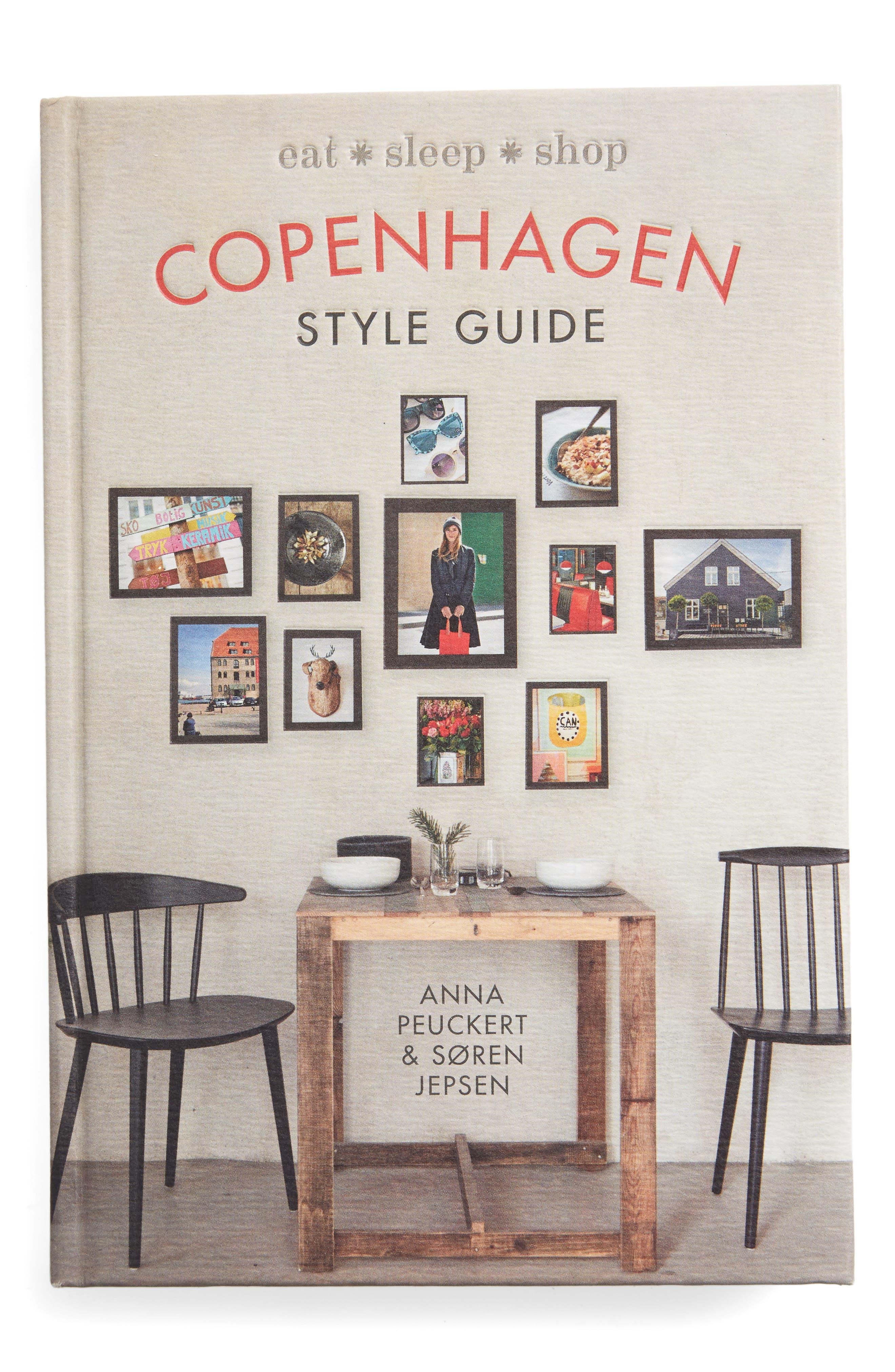 Copenhagen Style Guide Book,                             Main thumbnail 1, color,                             Beige/ Khaki