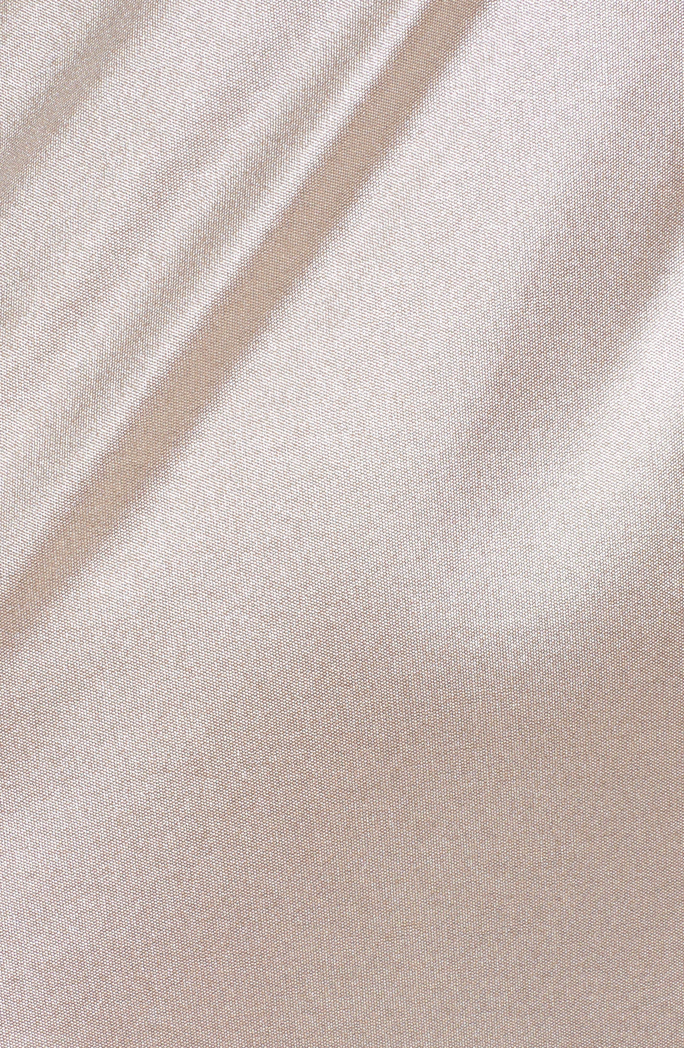 Director's Cut Dress,                             Alternate thumbnail 5, color,                             Rose Gold
