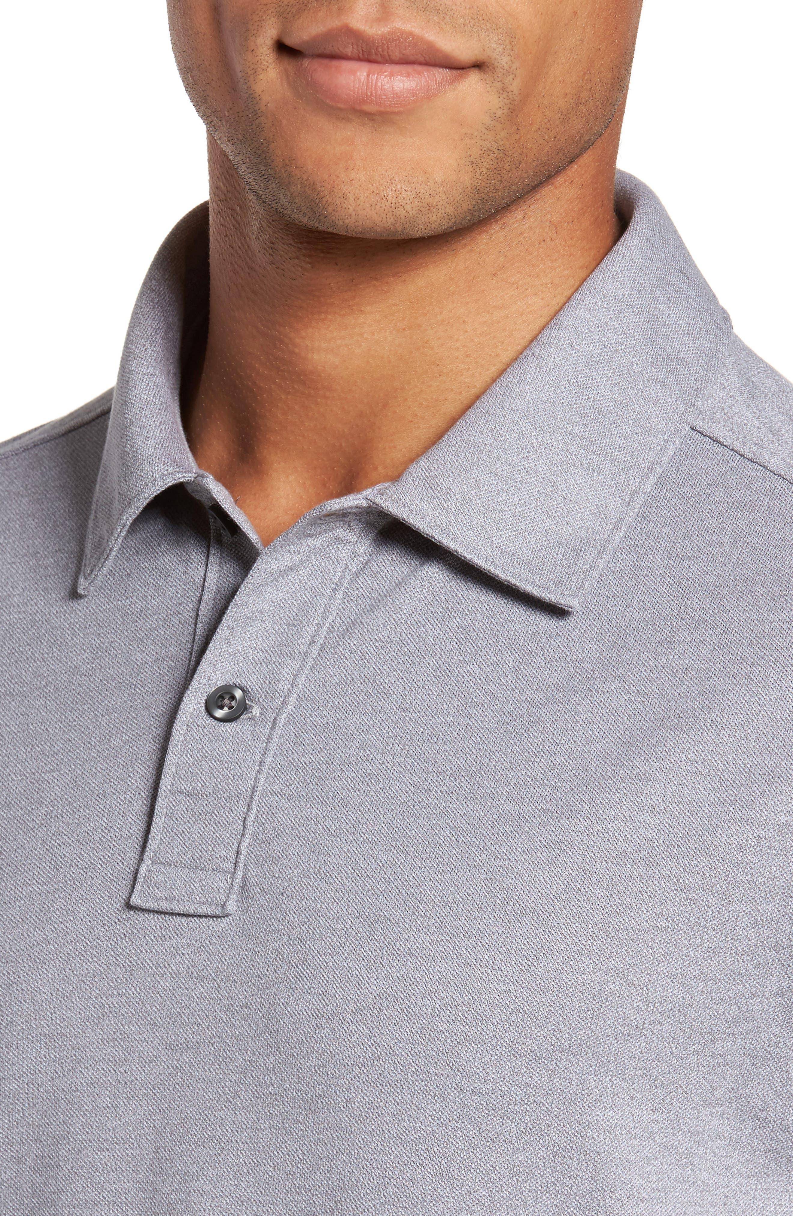 Alternate Image 4  - Nordstrom Men's Shop Regular Fit Polo