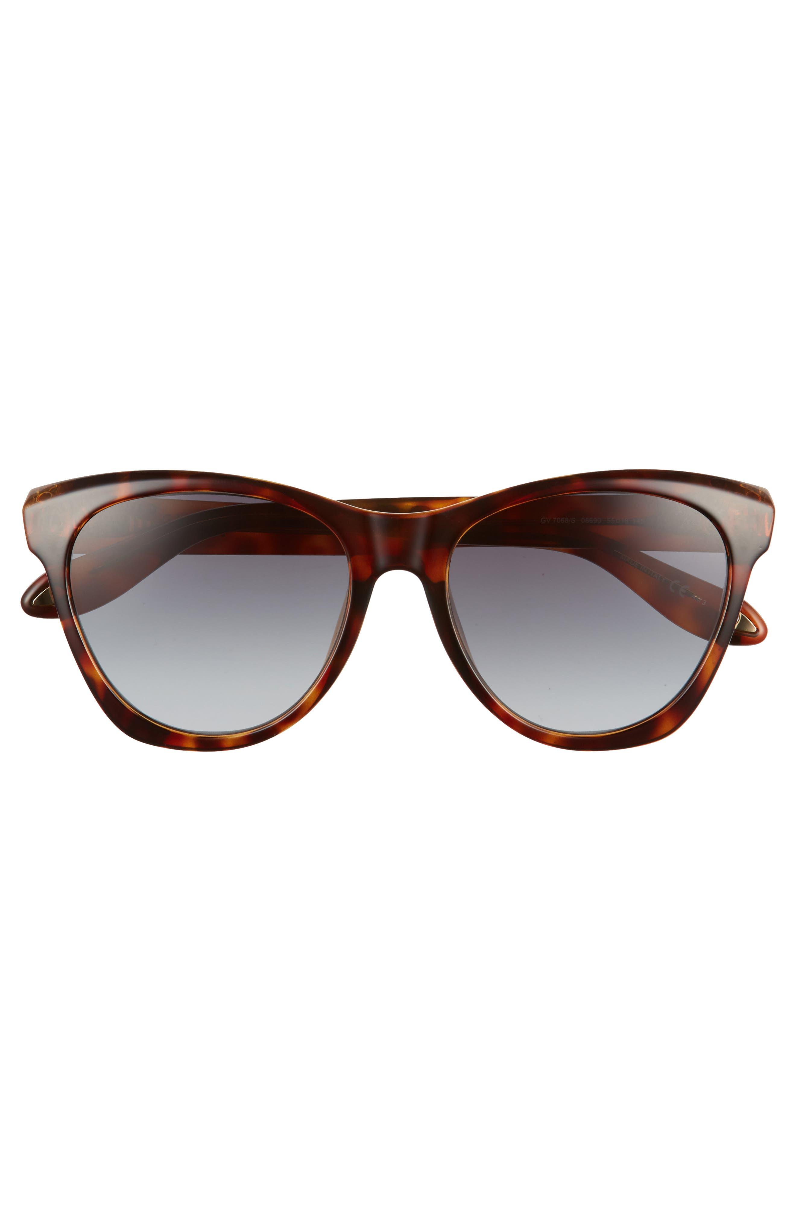 Alternate Image 3  - Givenchy 55mm Cat Eye Sunglasses