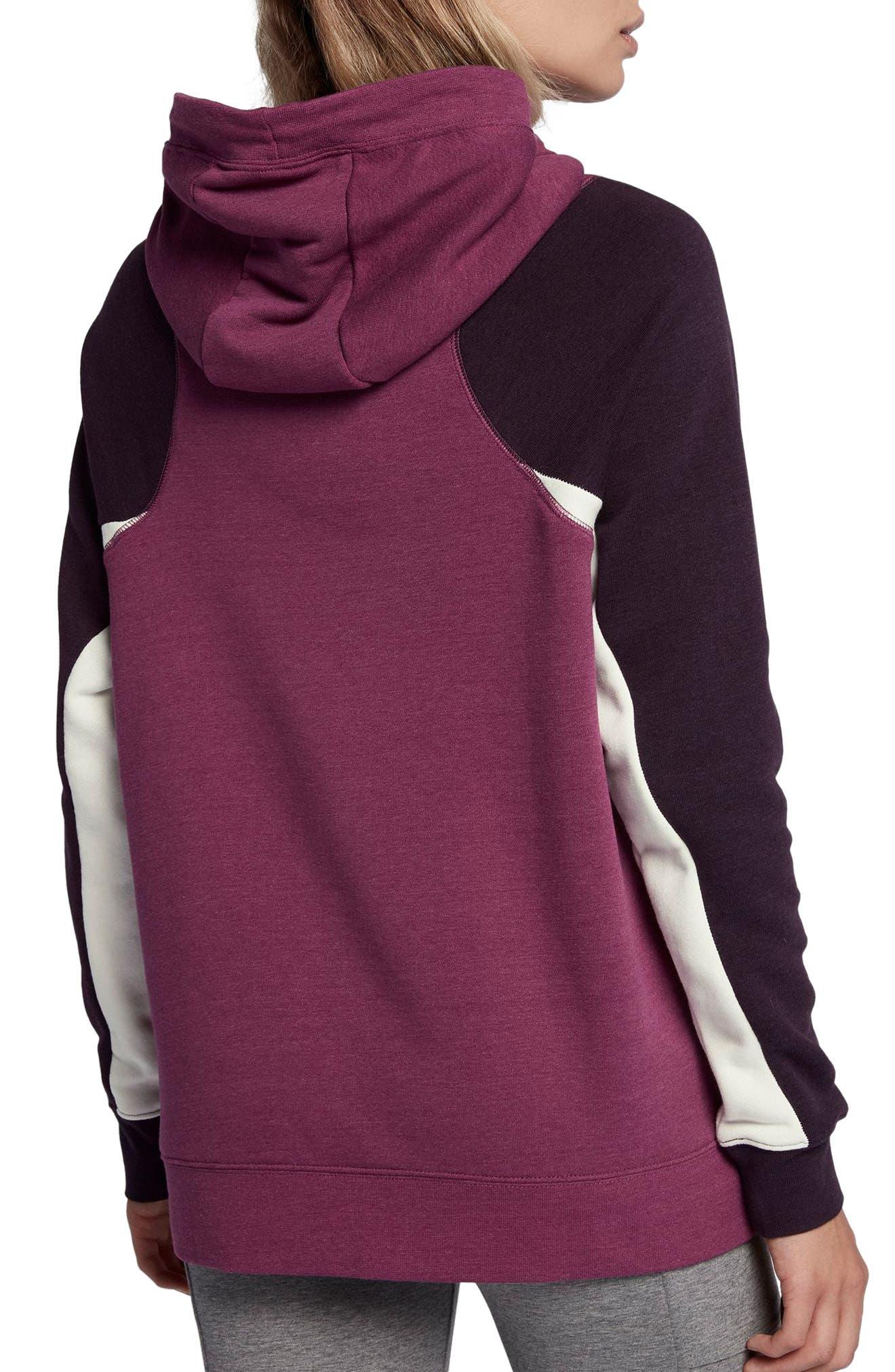 Alternate Image 2  - Nike Women's Modern Pullover Hoodie