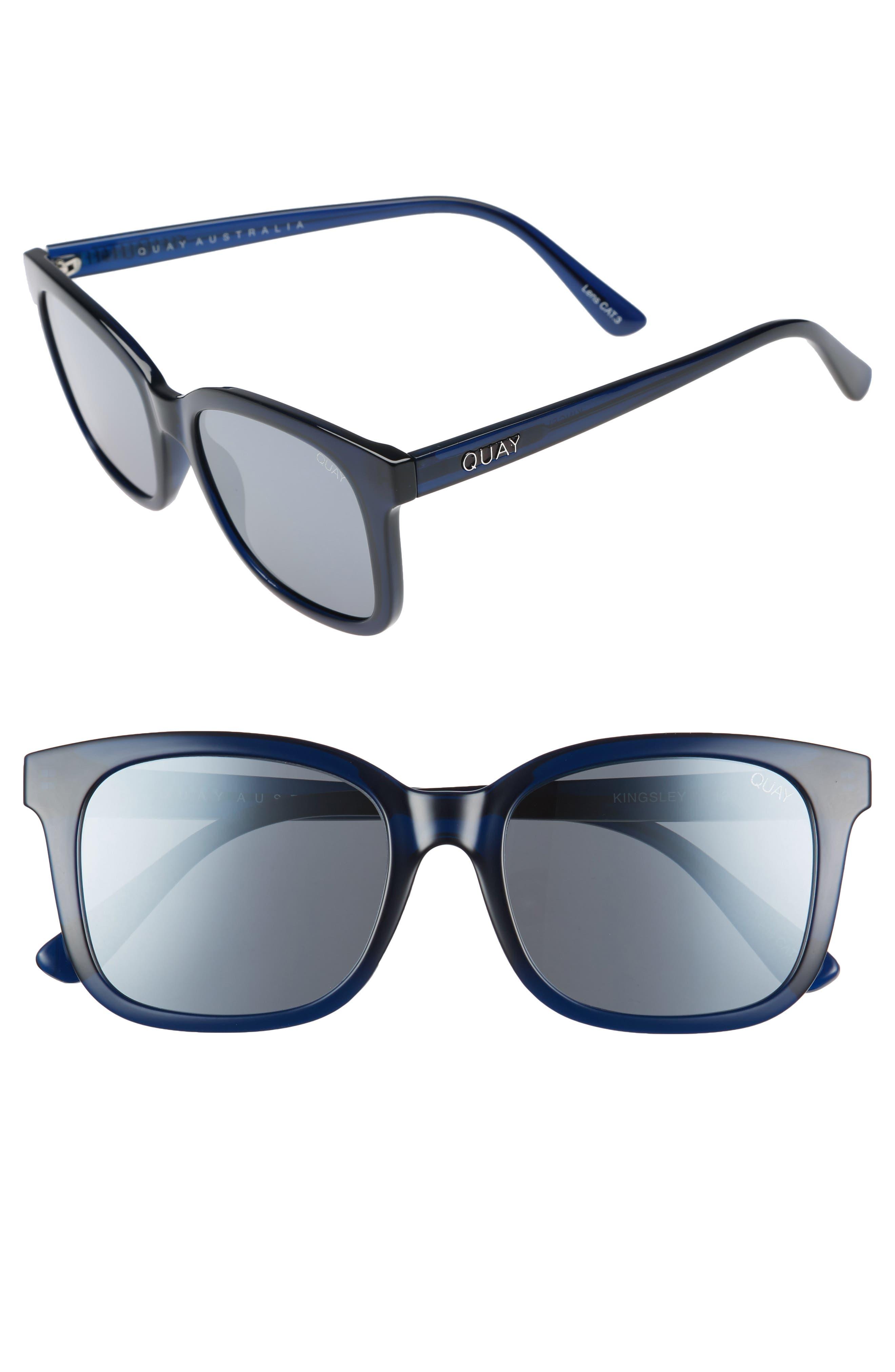 Quay Australia Kingsley 52mm Sunglasses
