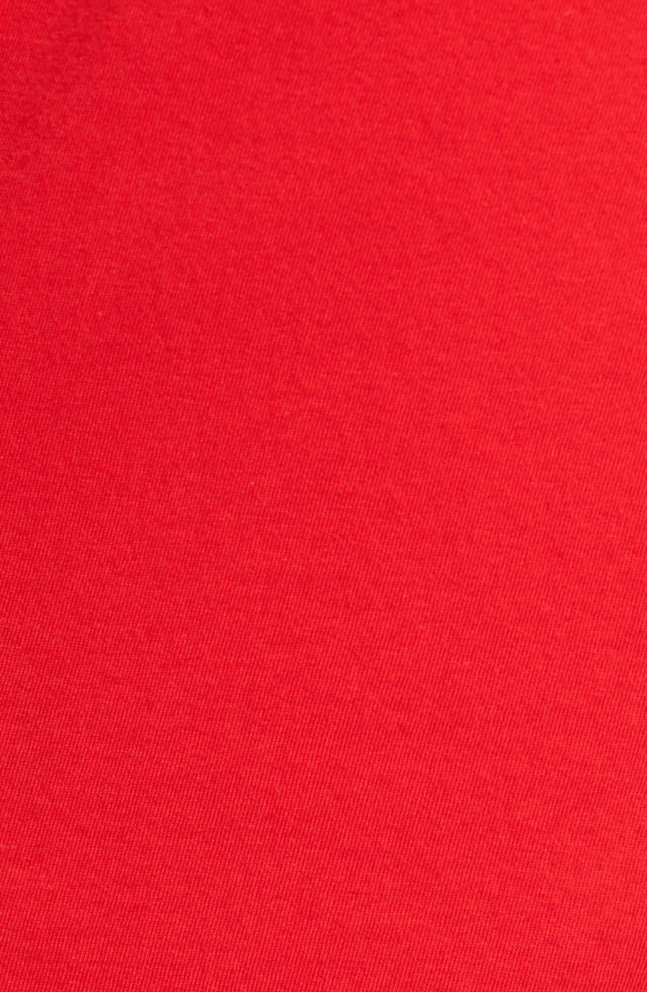 Stay Woke T-Shirt,                             Alternate thumbnail 5, color,                             Red Stay Woke