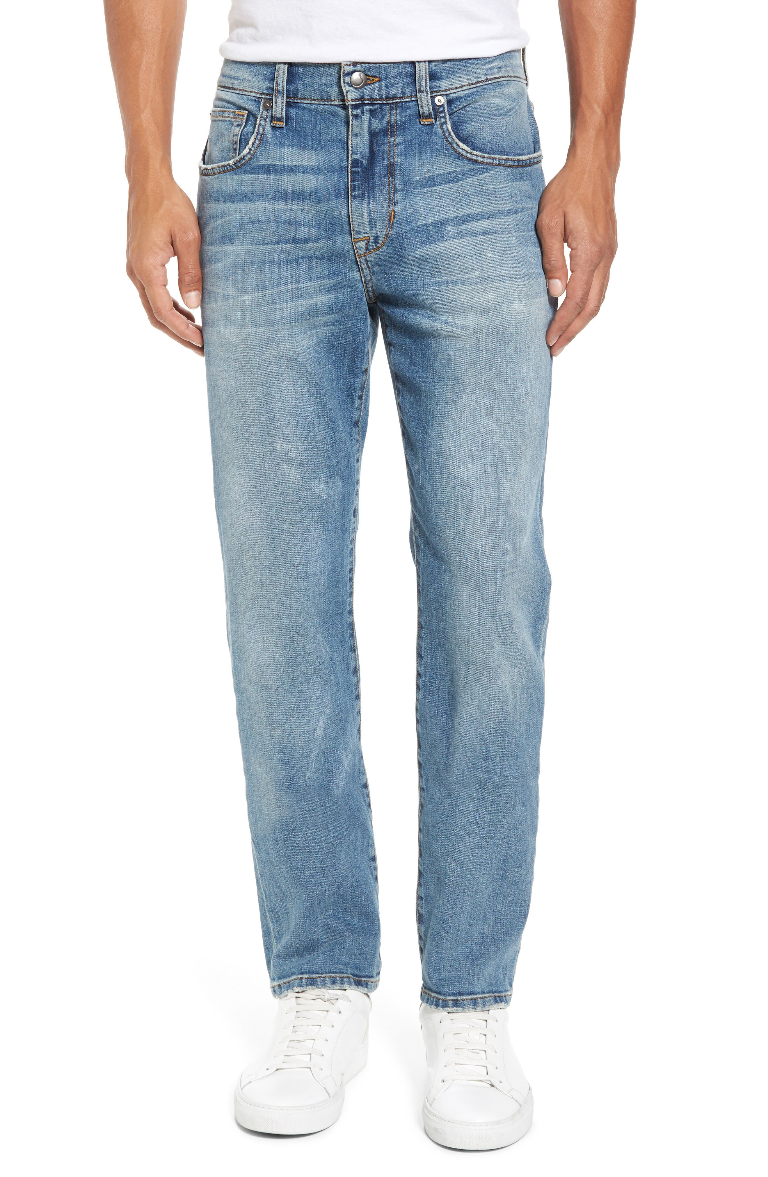 Brixton Slim Straight Fit Jeans,                         Main,                         color, Wyman
