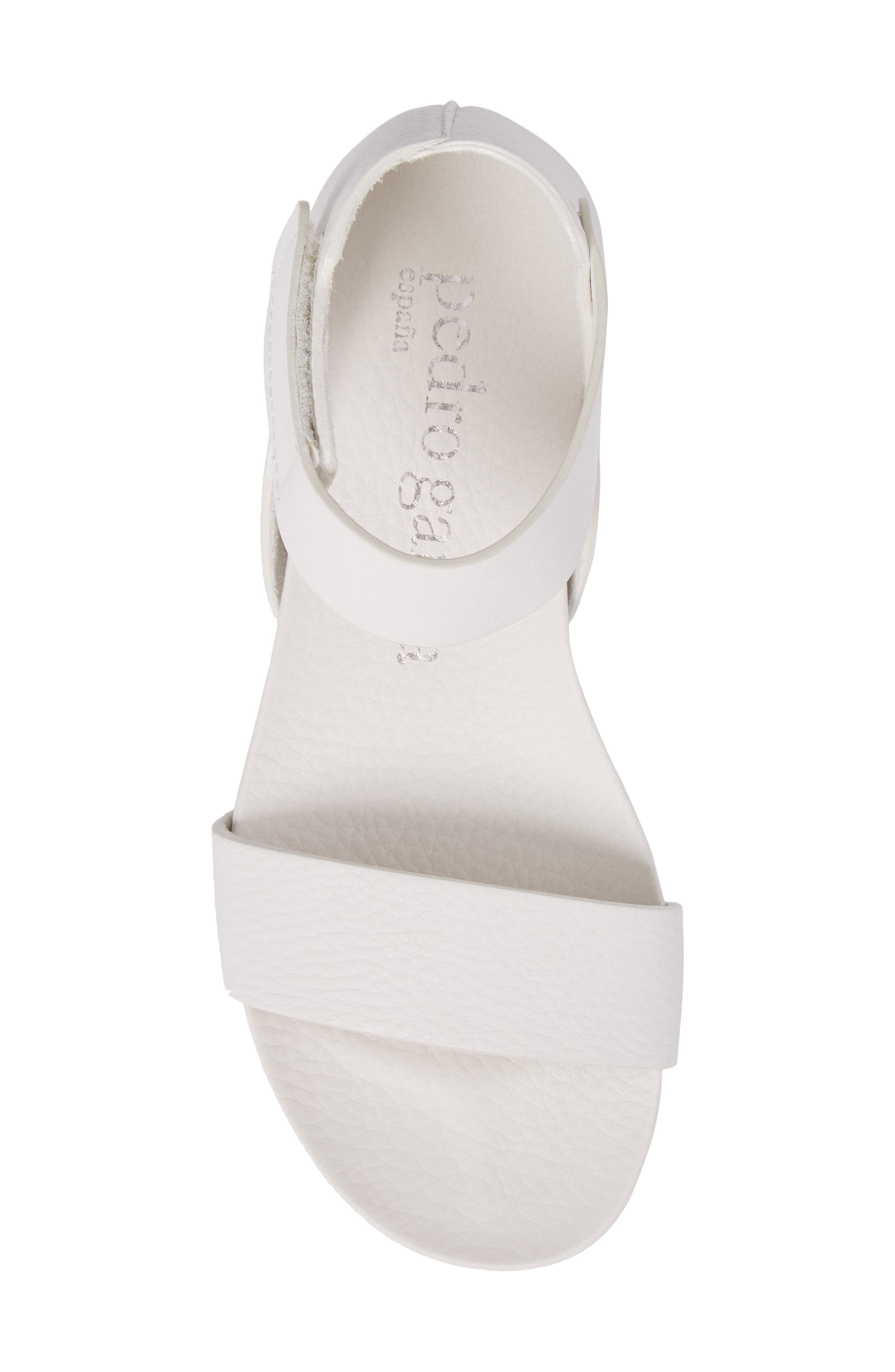 Jalila Ankle Strap Sandal,                             Alternate thumbnail 4, color,                             Chalk Cervo