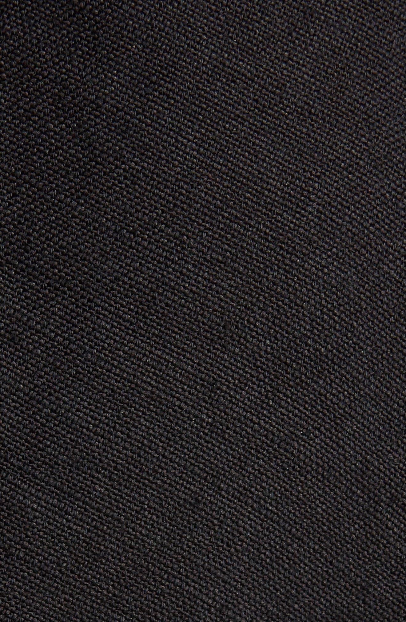 Jessa Shirtdress,                             Alternate thumbnail 6, color,                             Black