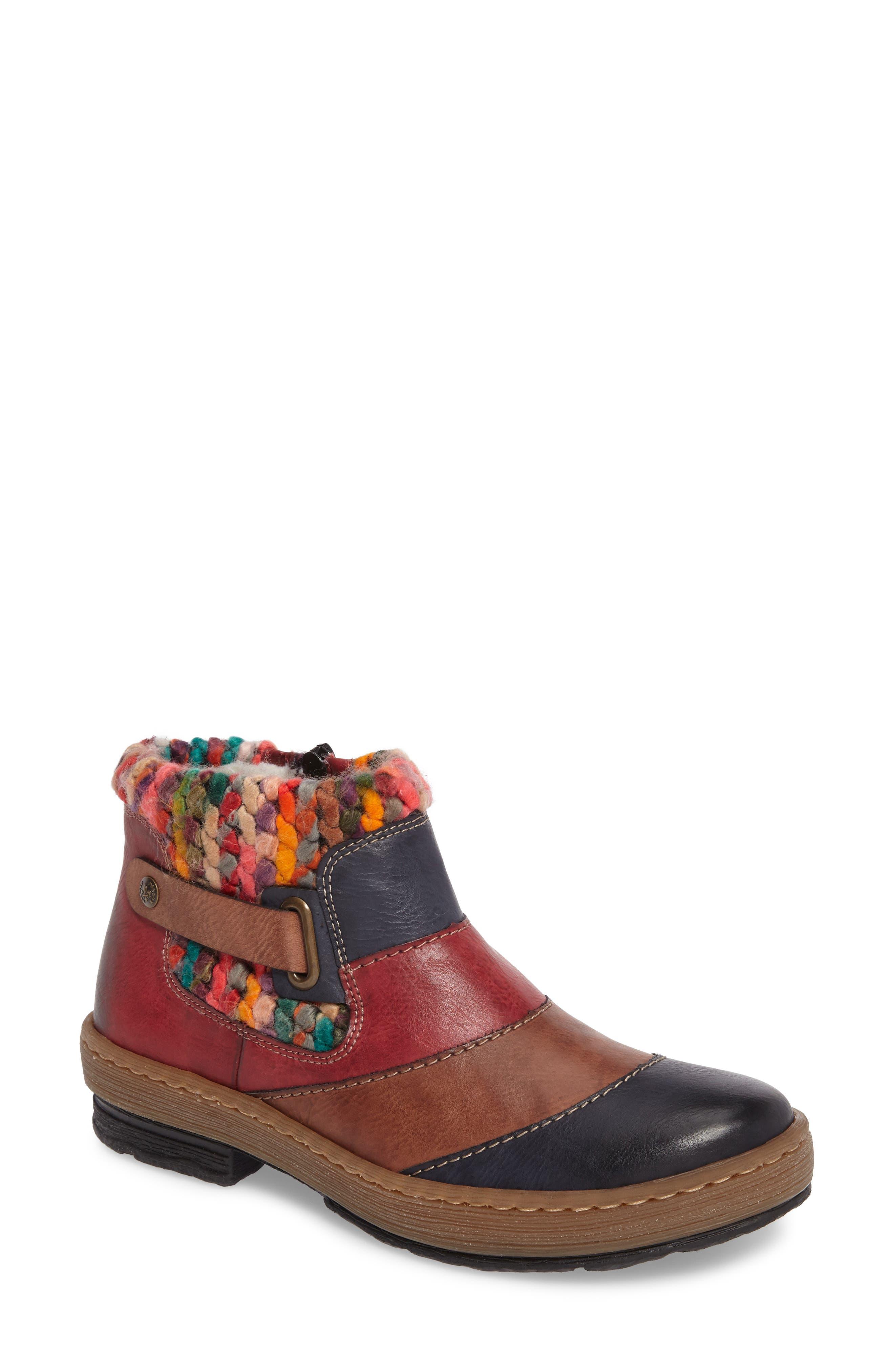Felicitas 82 Boot,                         Main,                         color, Ocean Multi Faux Leather