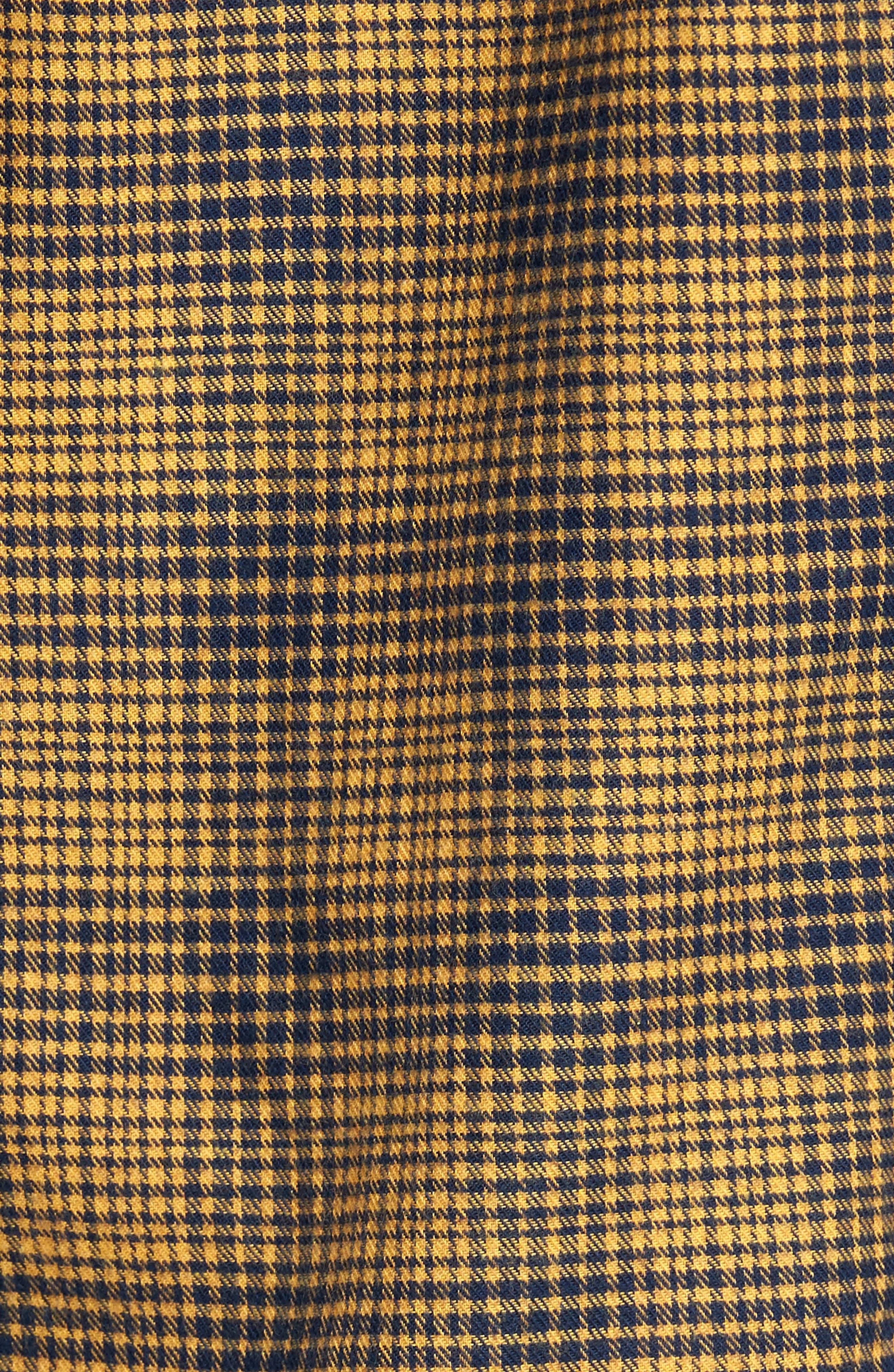 Alternate Image 5  - Culturata Glen Plaid Sport Shirt