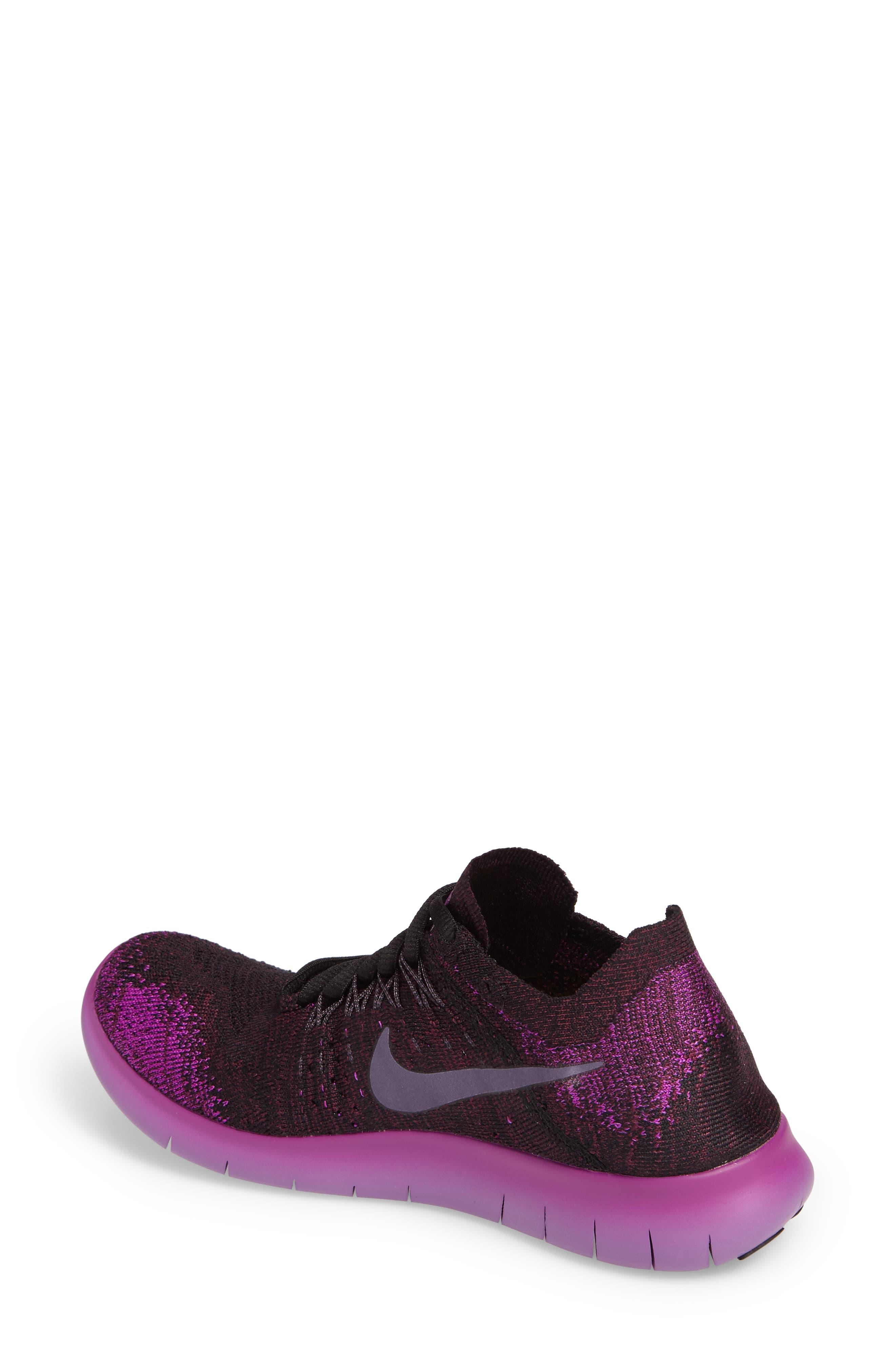 Alternate Image 2  - Nike Free Run Flyknit 2 Running Shoe (Women)