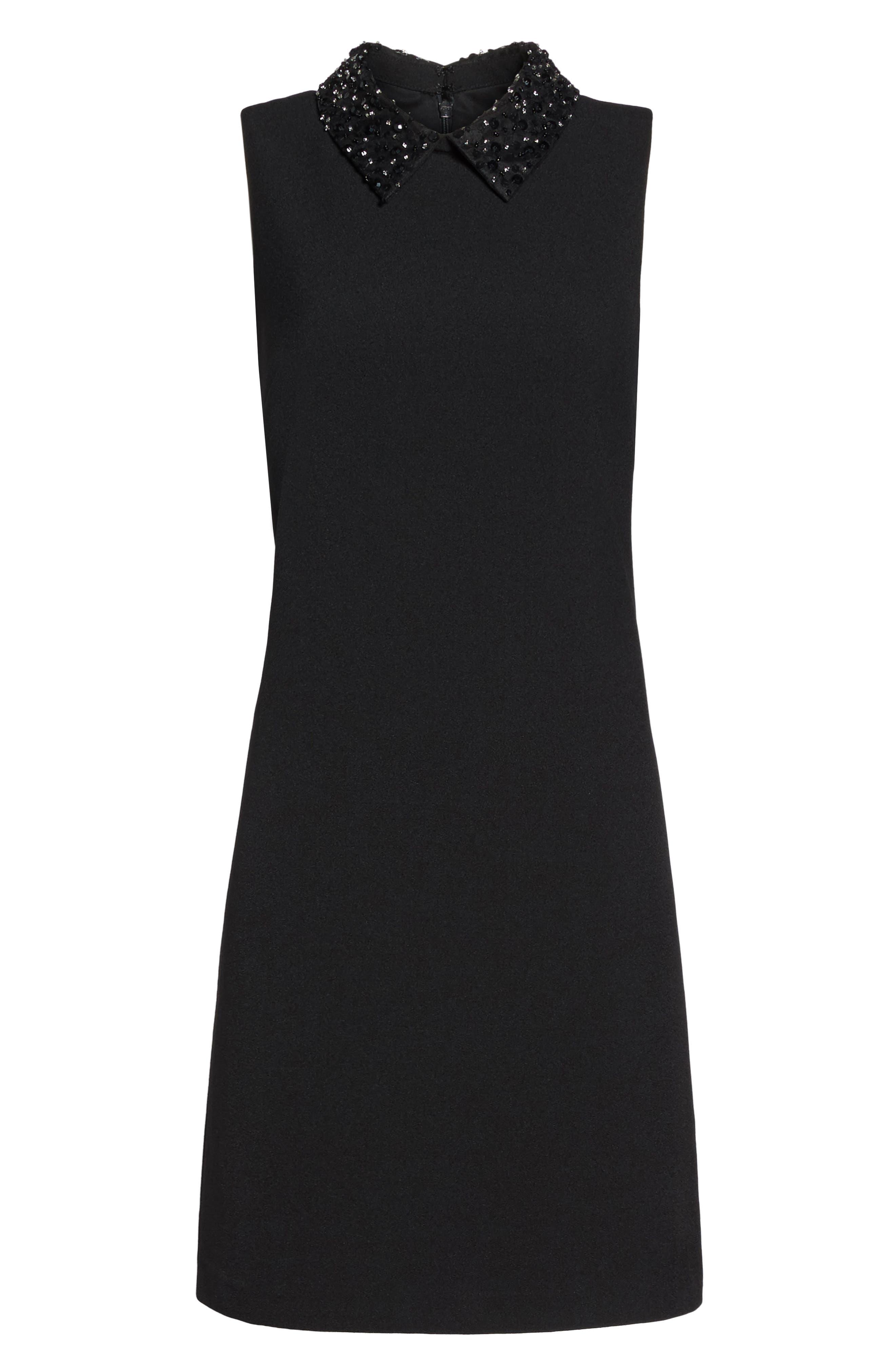 Alternate Image 6  - Julia Jordan Jeweled Collar A-Line Dress