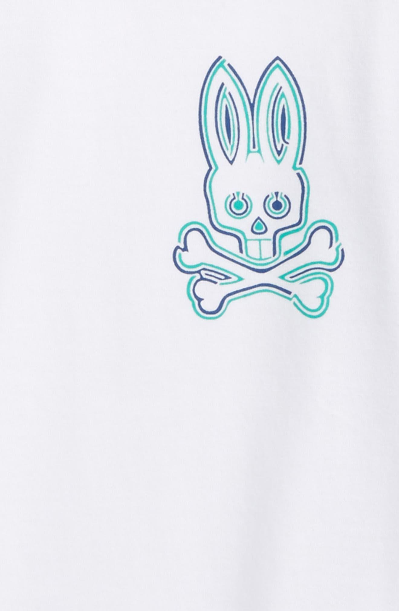 Alternate Image 2  - Psycho Bunny Mantle Pima Cotton T-Shirt (Little Boys & Big Boys)