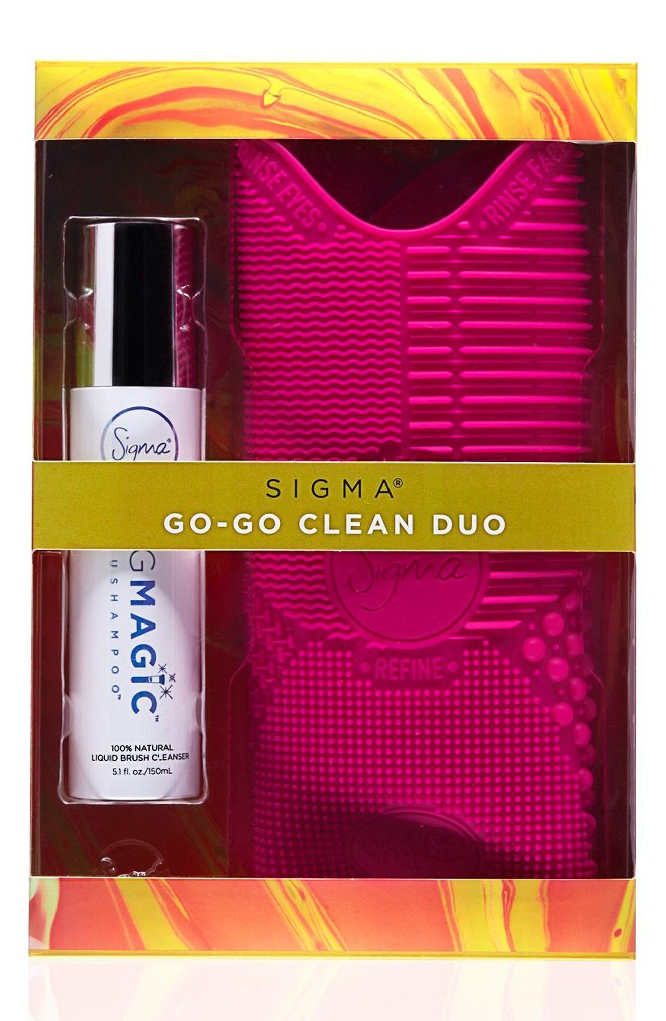 Alternate Image 1 Selected - Sigma Beauty Go Clean Duo ($47 Value)