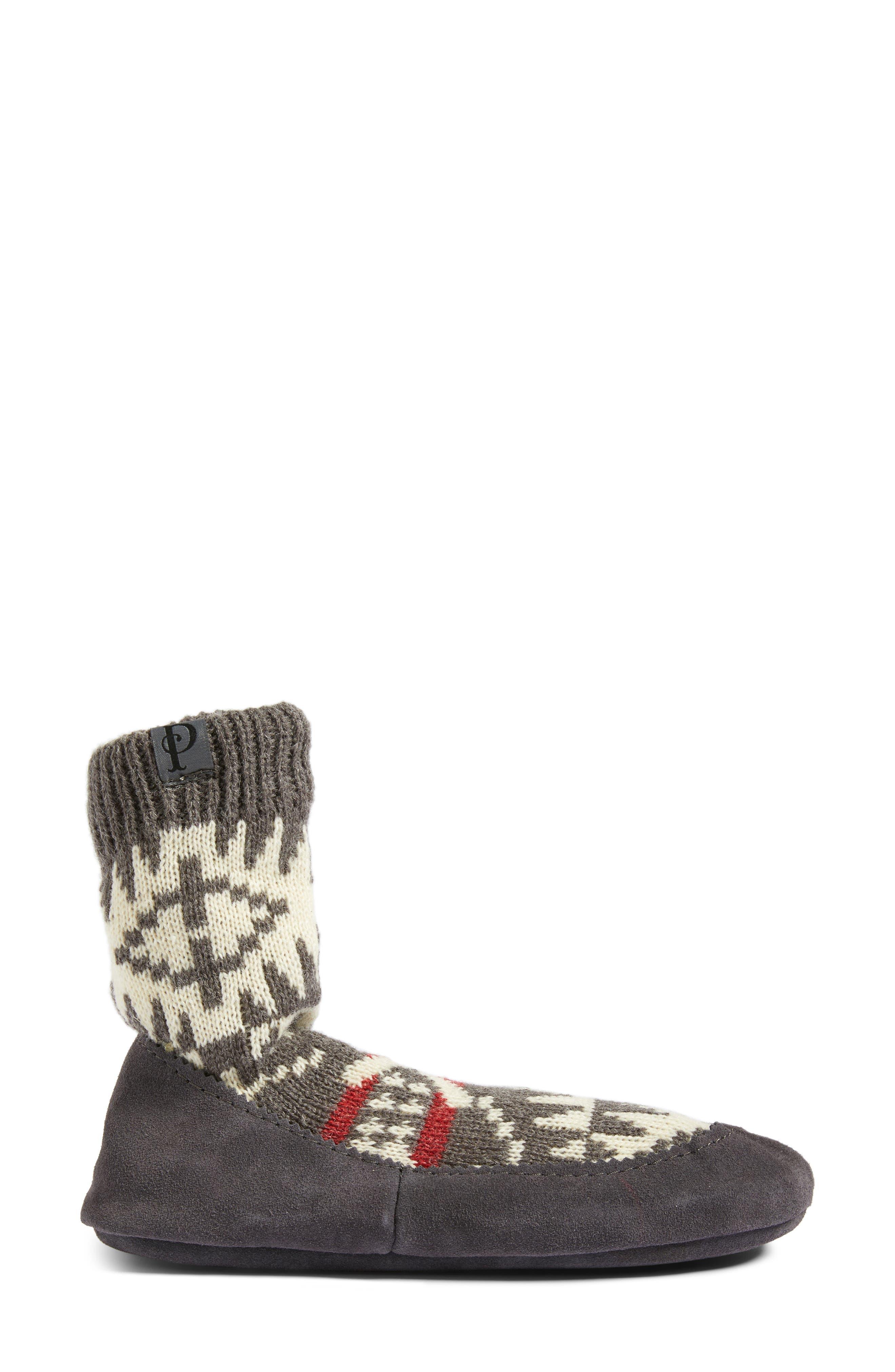 Alternate Image 3  - Pendleton Spider Rock Homestead Slipper Socks
