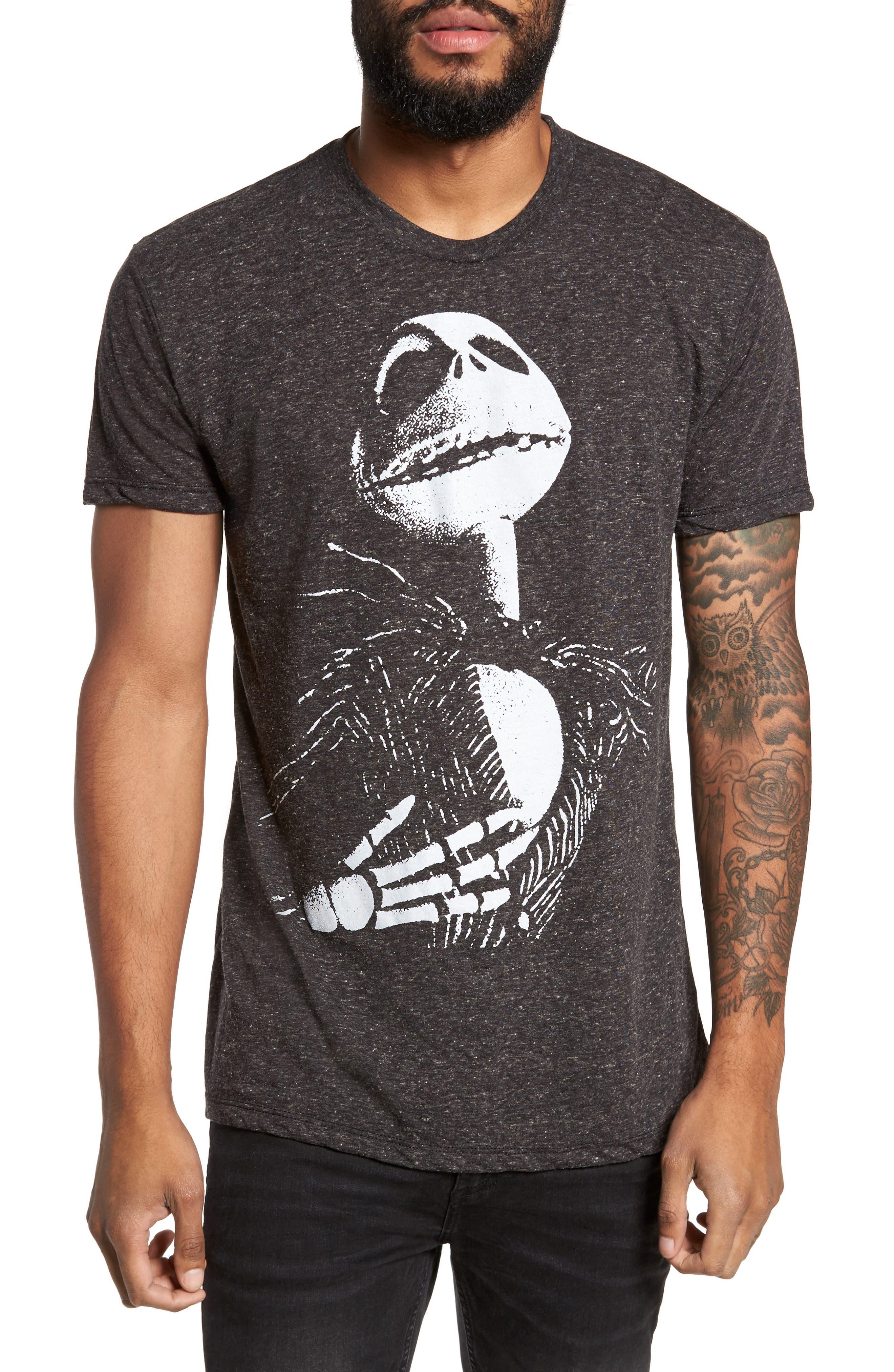 The Rail Nightmare Before Christmas Graphic T-Shirt