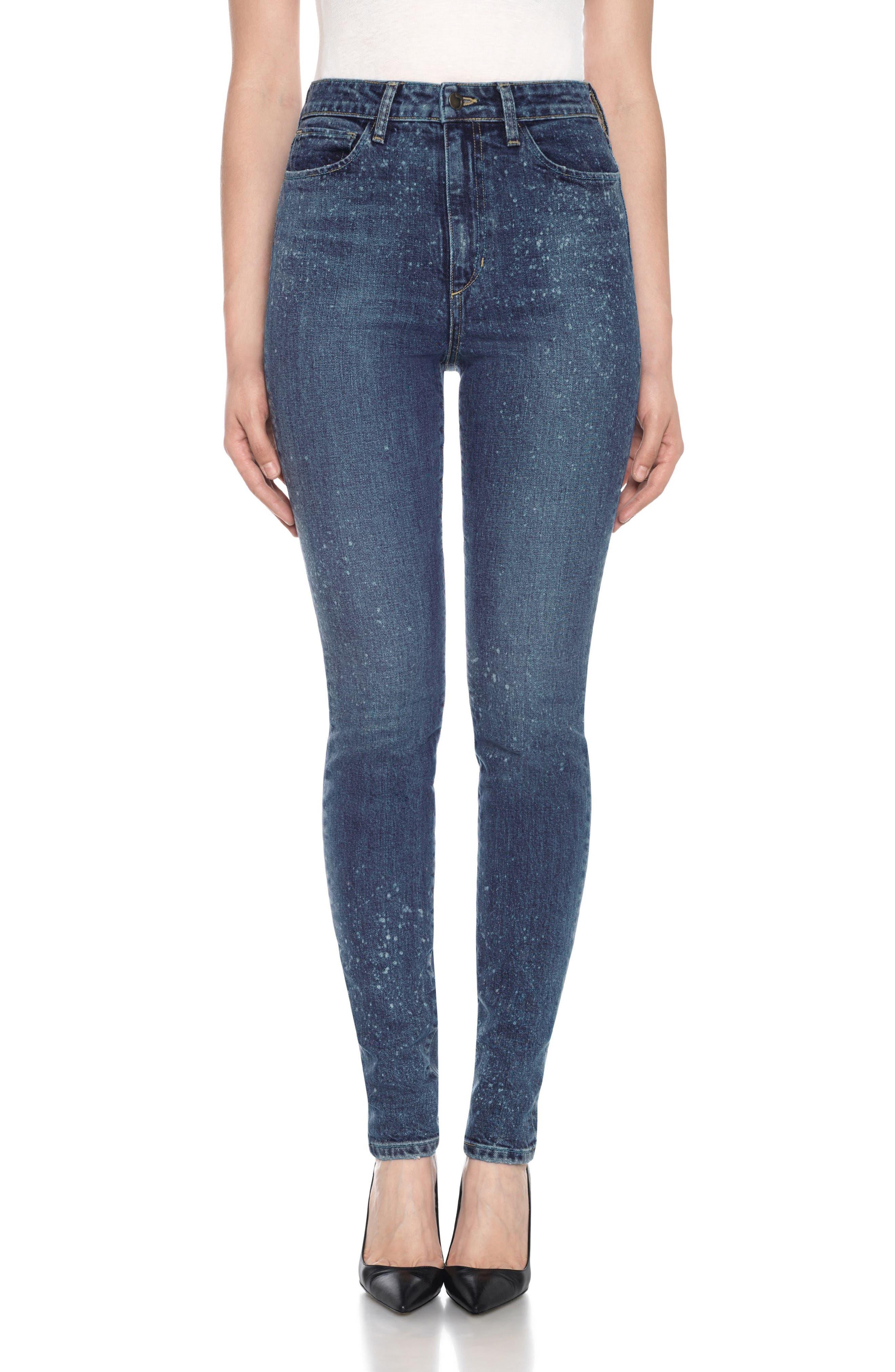 Taylor Hill x Joe's Bella High Waist Skinny Jeans (Justice)