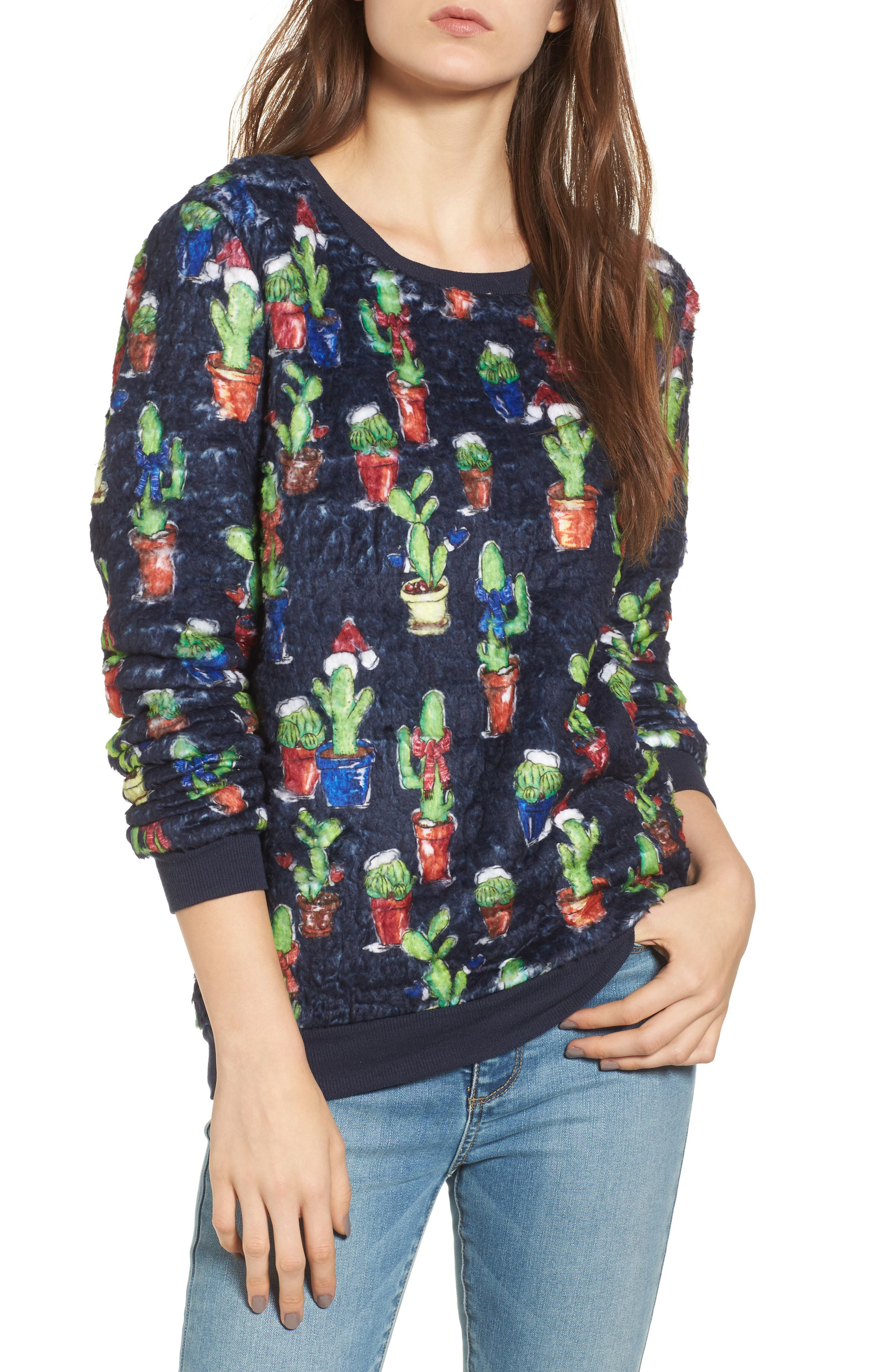 Love by Design Cactus Cozy Pullover