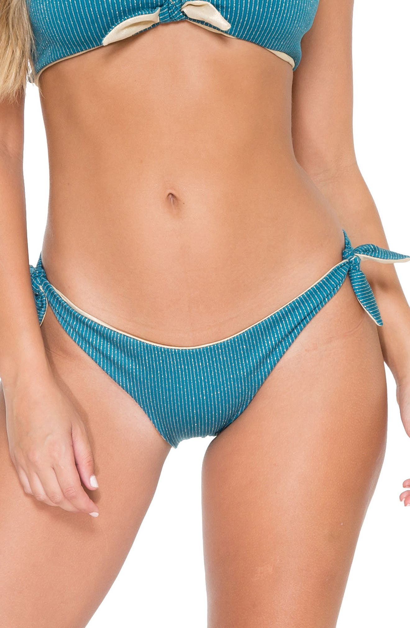 Main Image - Luli Fama Cayo Hueso Reversible Bikini Bottoms