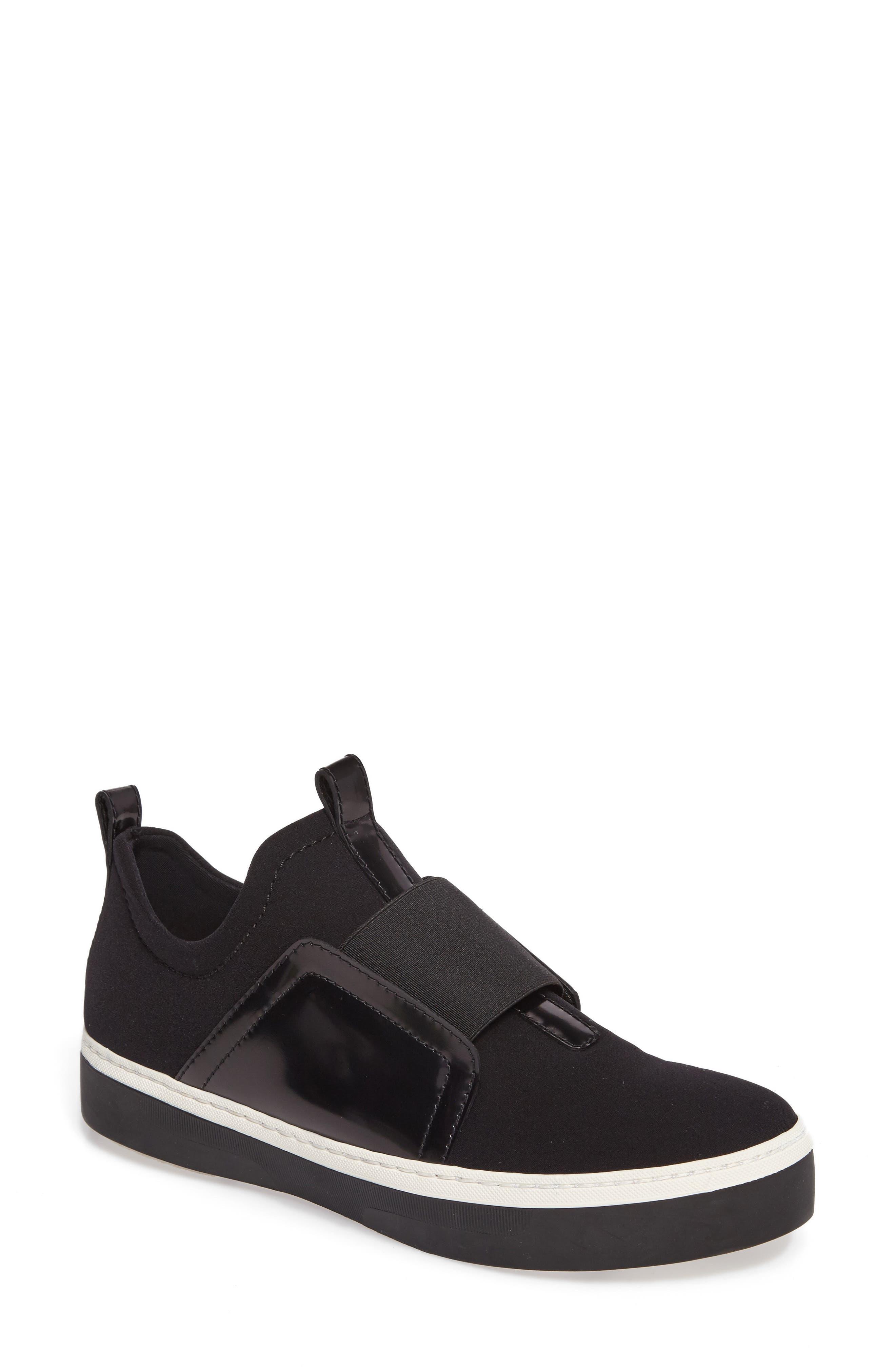 Wayfare Slip-On Sneaker,                             Main thumbnail 1, color,                             Black Neoprene