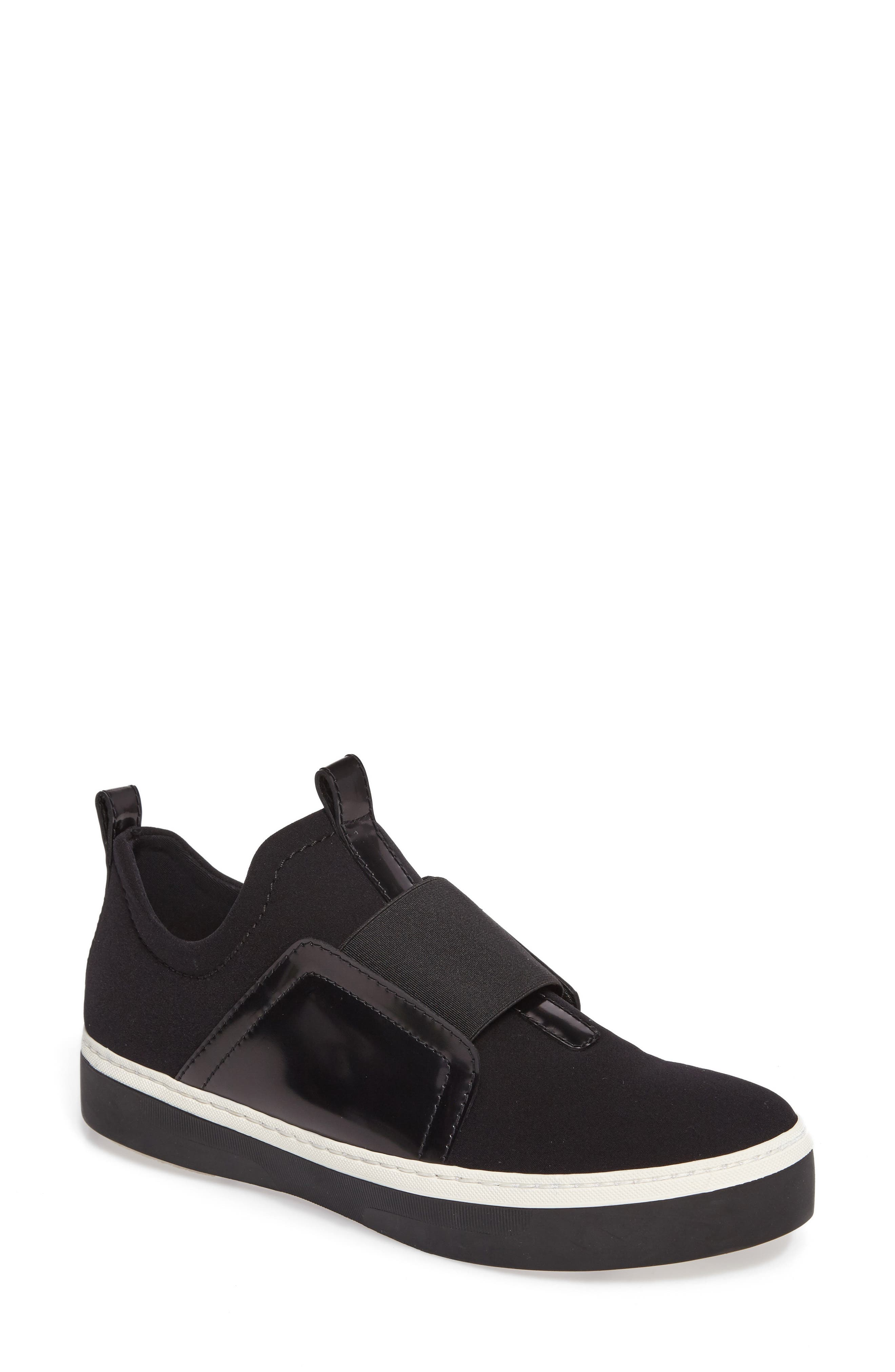Wayfare Slip-On Sneaker,                         Main,                         color, Black Neoprene