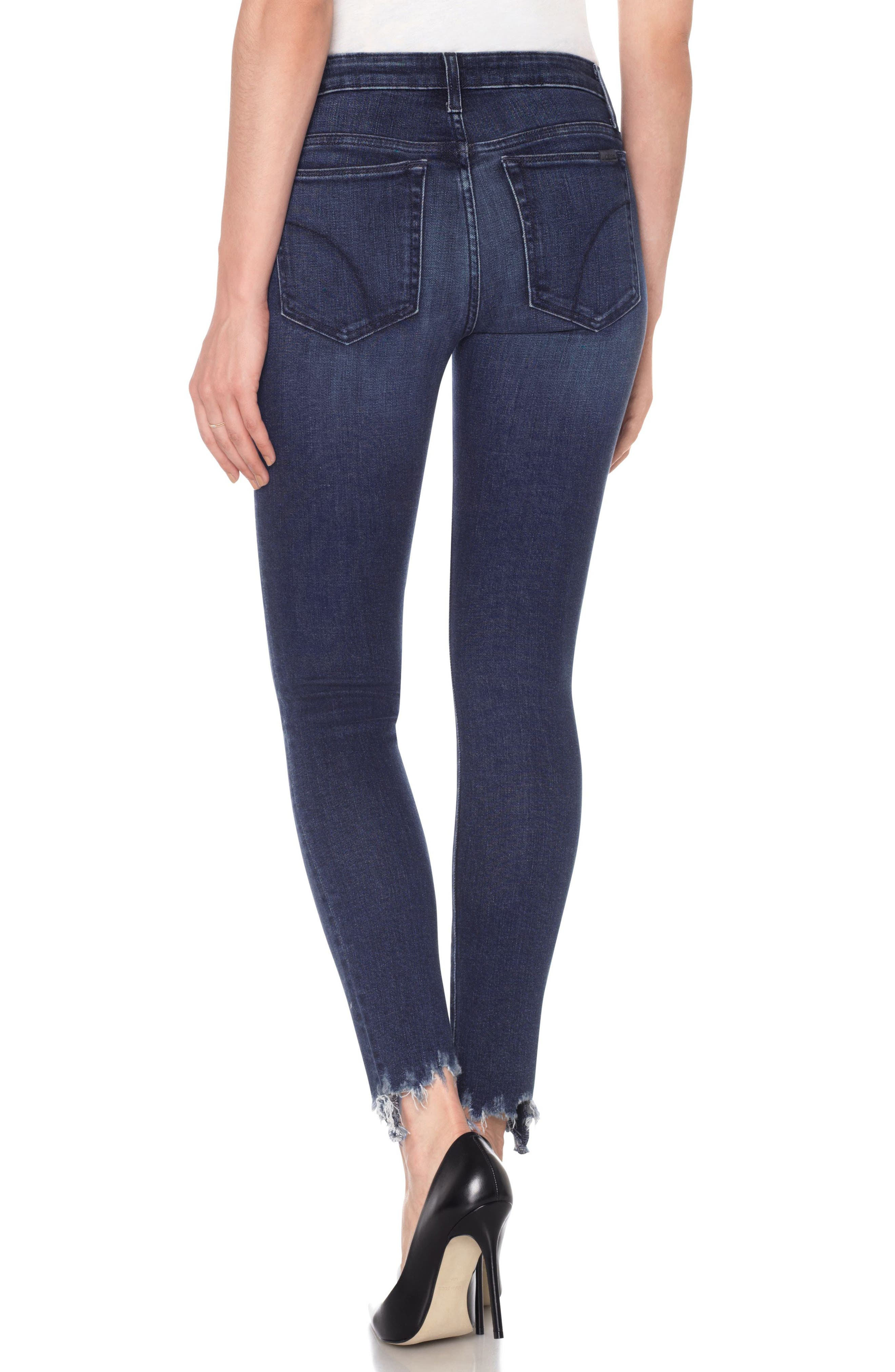 Icon Ankle Skinny Jeans,                             Alternate thumbnail 2, color,                             Everly