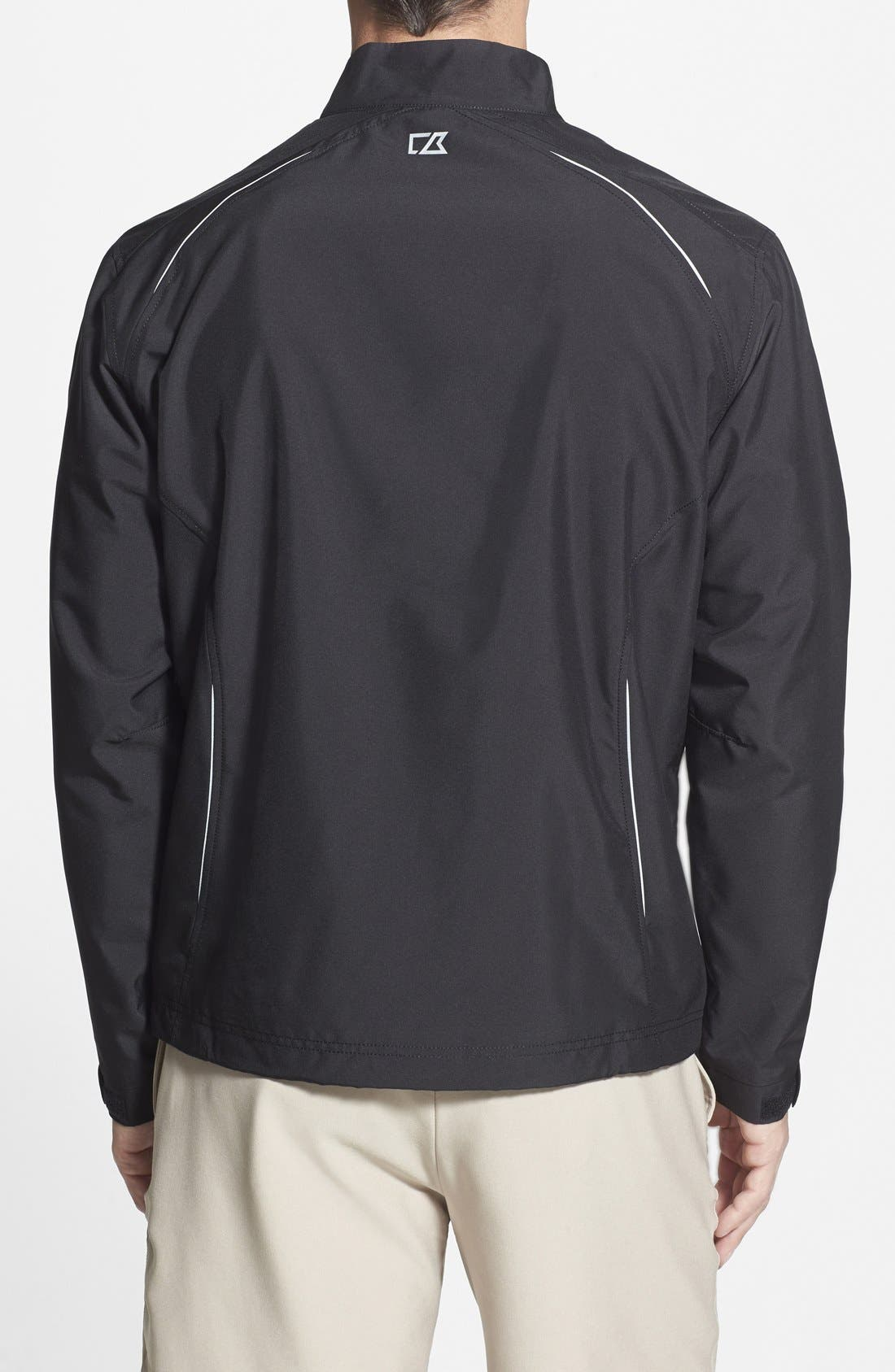 New Orleans Saints - Beacon WeatherTec Wind & Water Resistant Jacket,                             Alternate thumbnail 2, color,                             Black