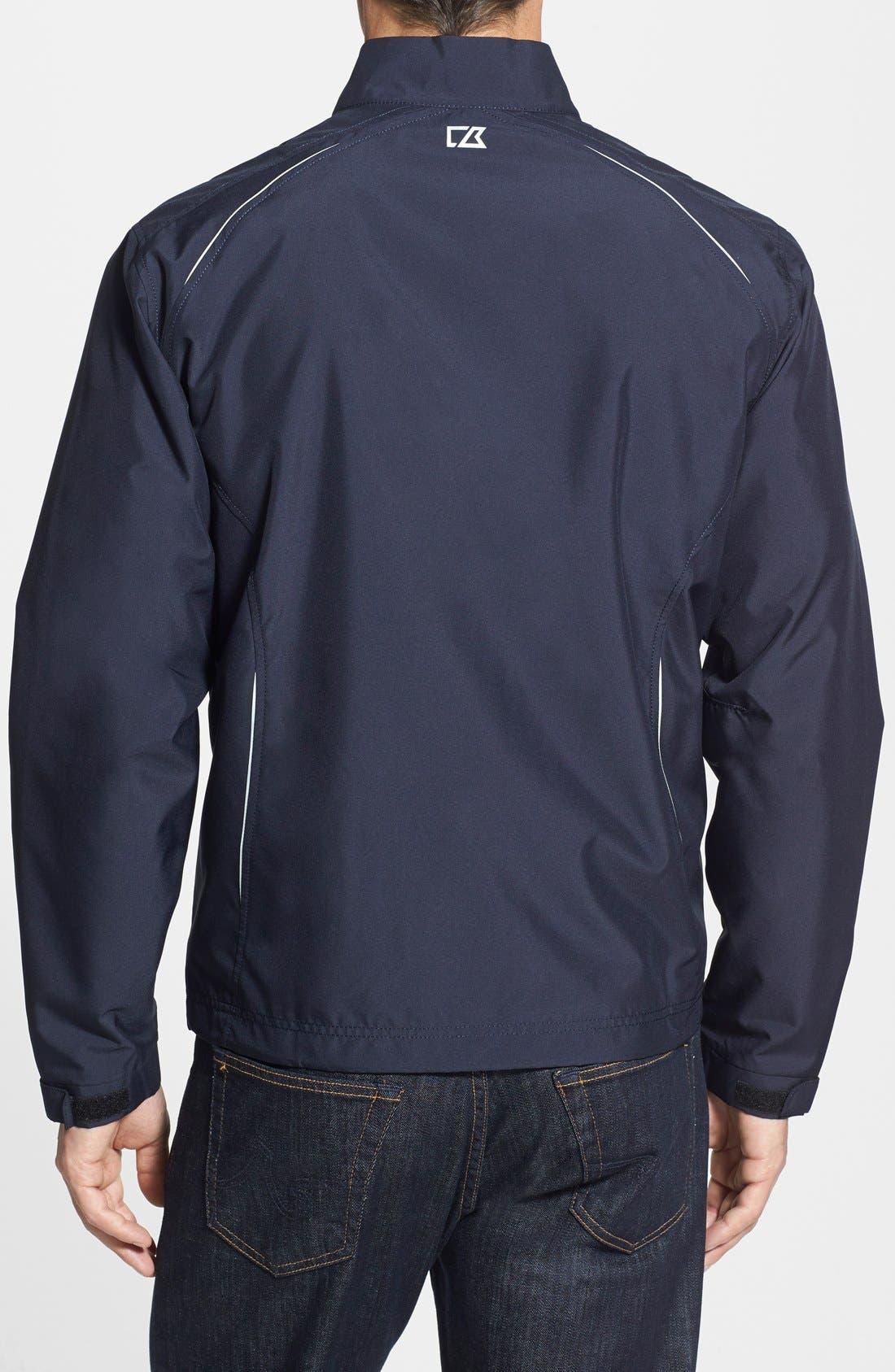 Denver Broncos - Beacon WeatherTec Wind & Water Resistant Jacket,                             Alternate thumbnail 2, color,                             Navy Blue