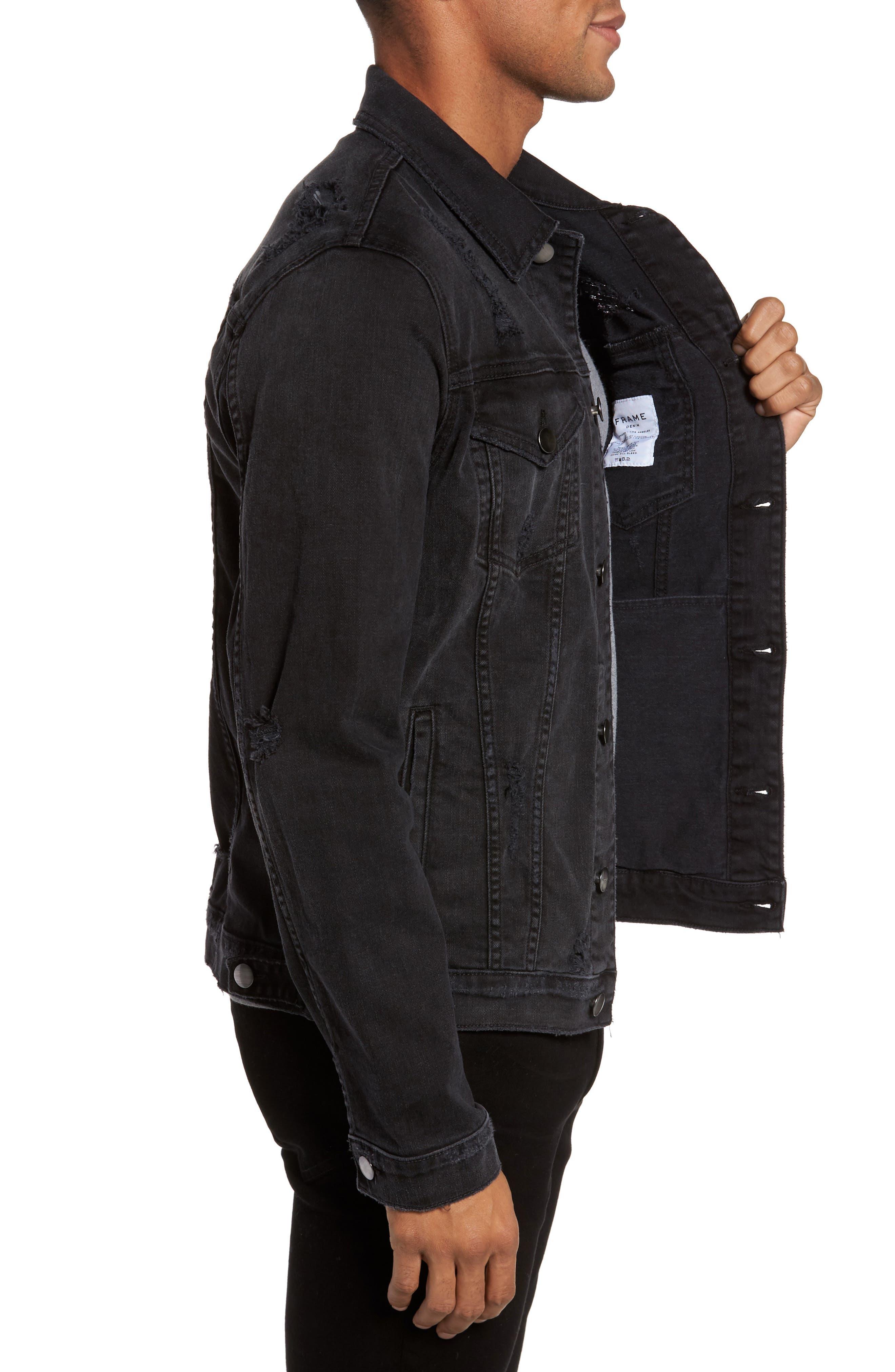 Alternate Image 3  - FRAME L'Homme Denim Jacket