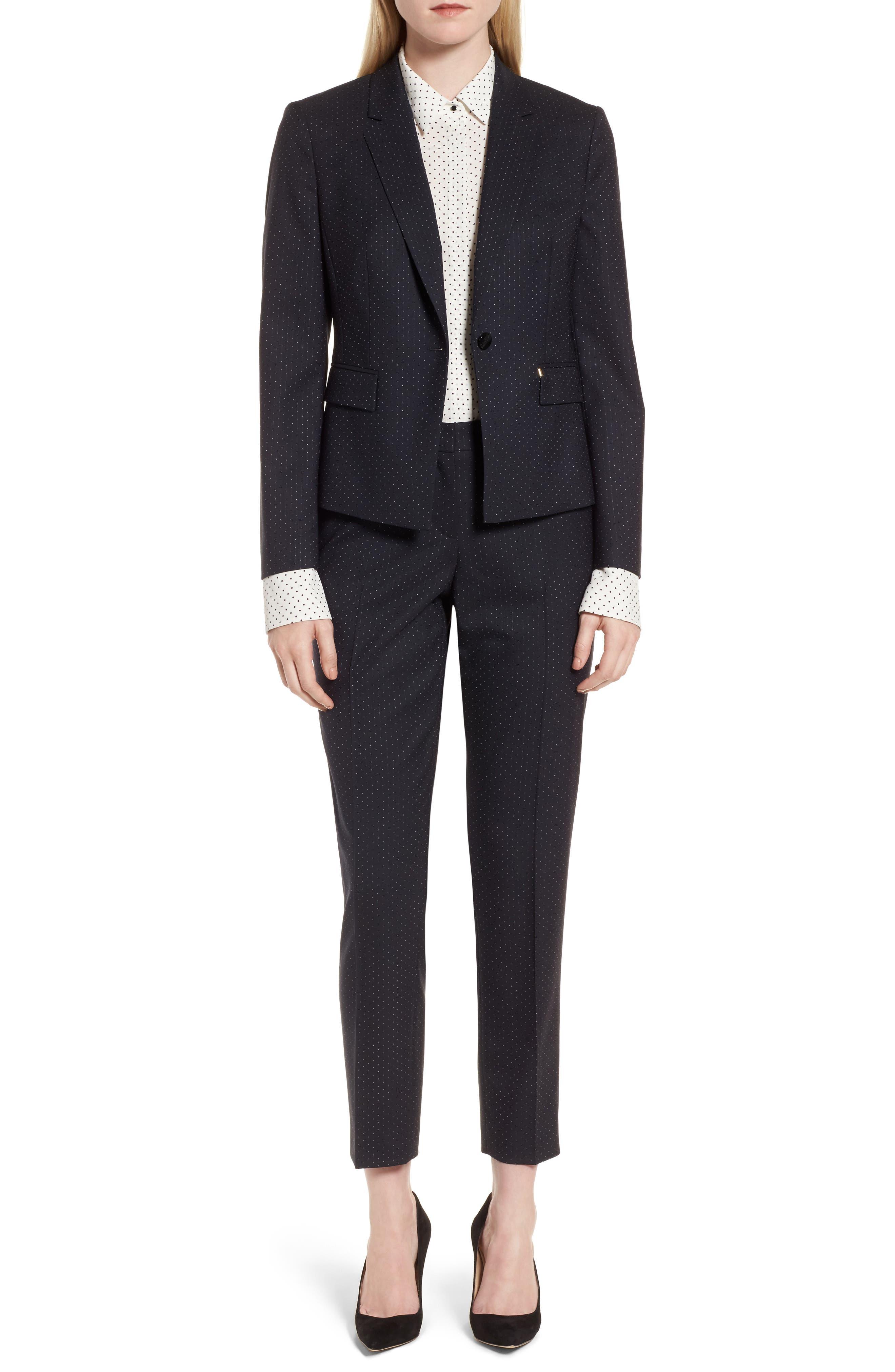 Alternate Image 6  - BOSS Jinalika Wool Suit Jacket