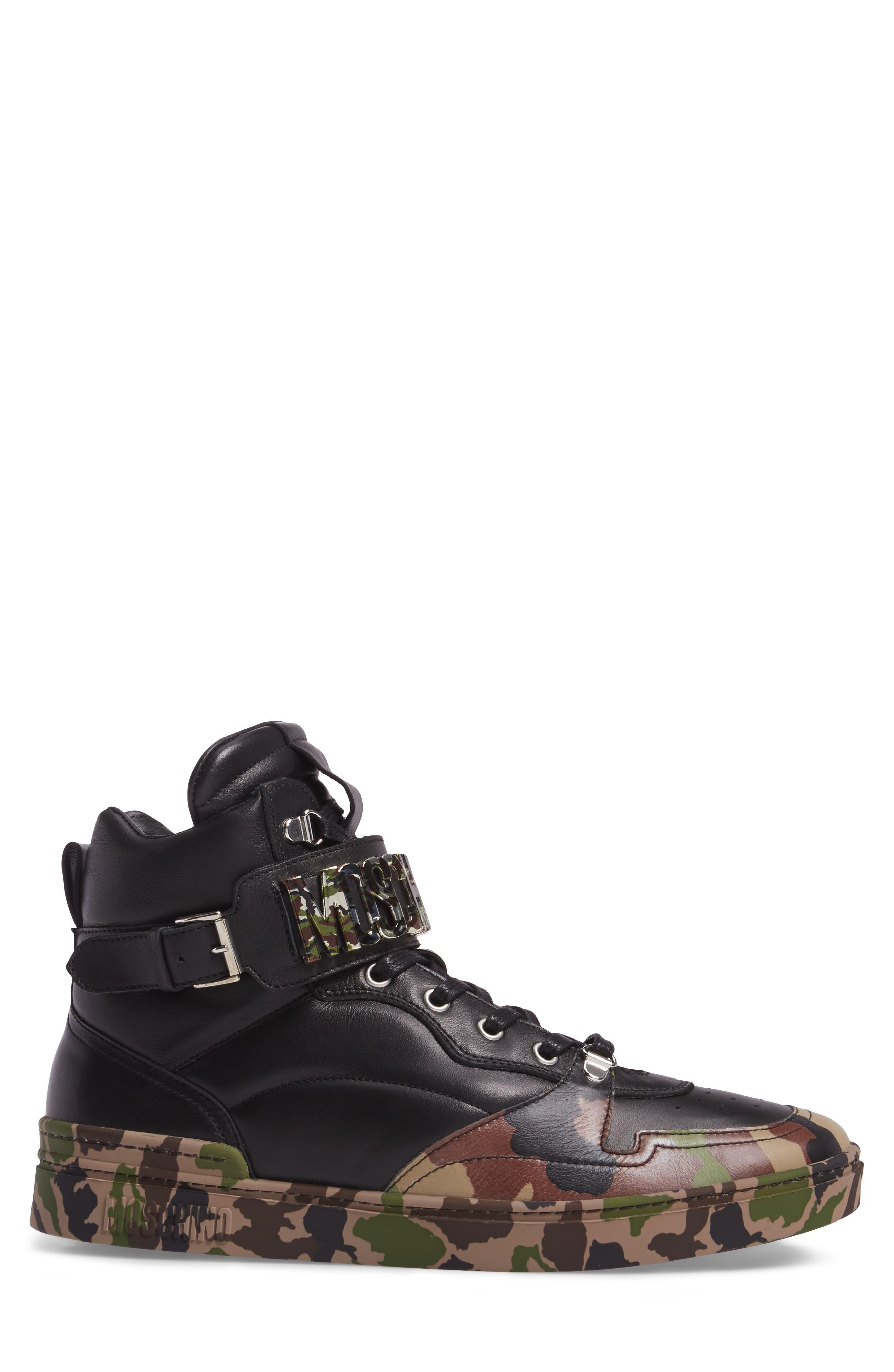 Alternate Image 3  - Moschino High Top Sneaker (Men)