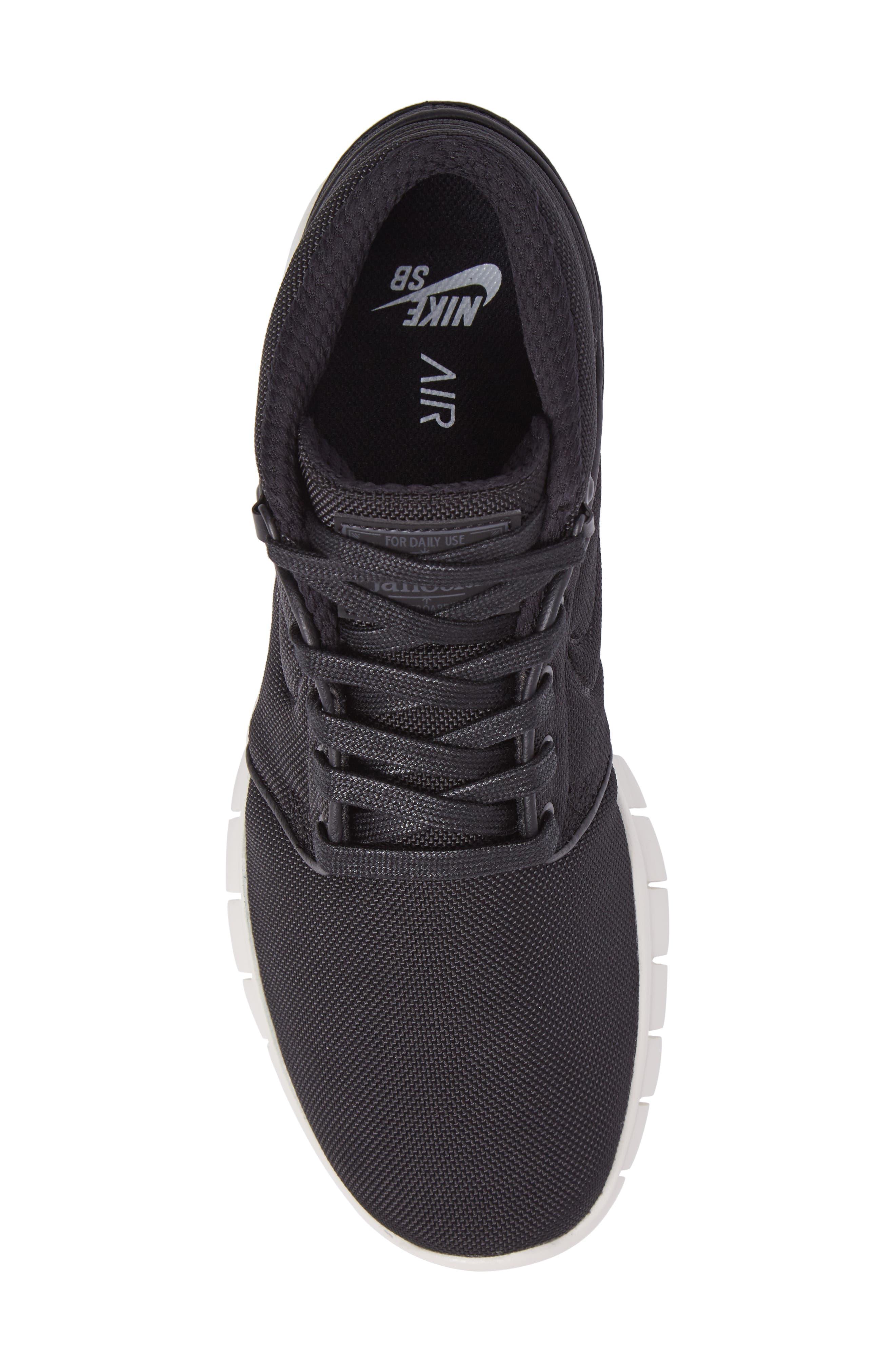 Alternate Image 5  - Nike SB Stefan Janoski Max Mid Skate Shoe (Men)
