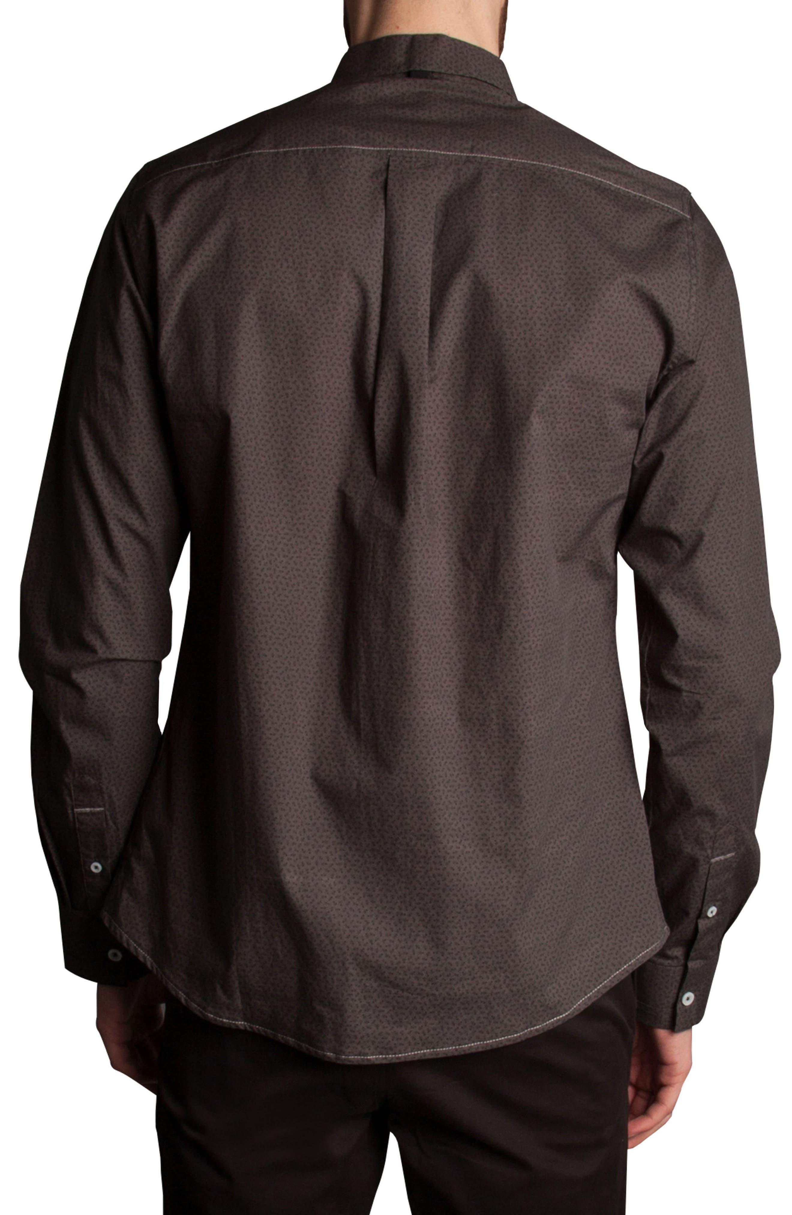 Alternate Image 2  - Descendant of Thieves Stick Figure Print Sport Shirt