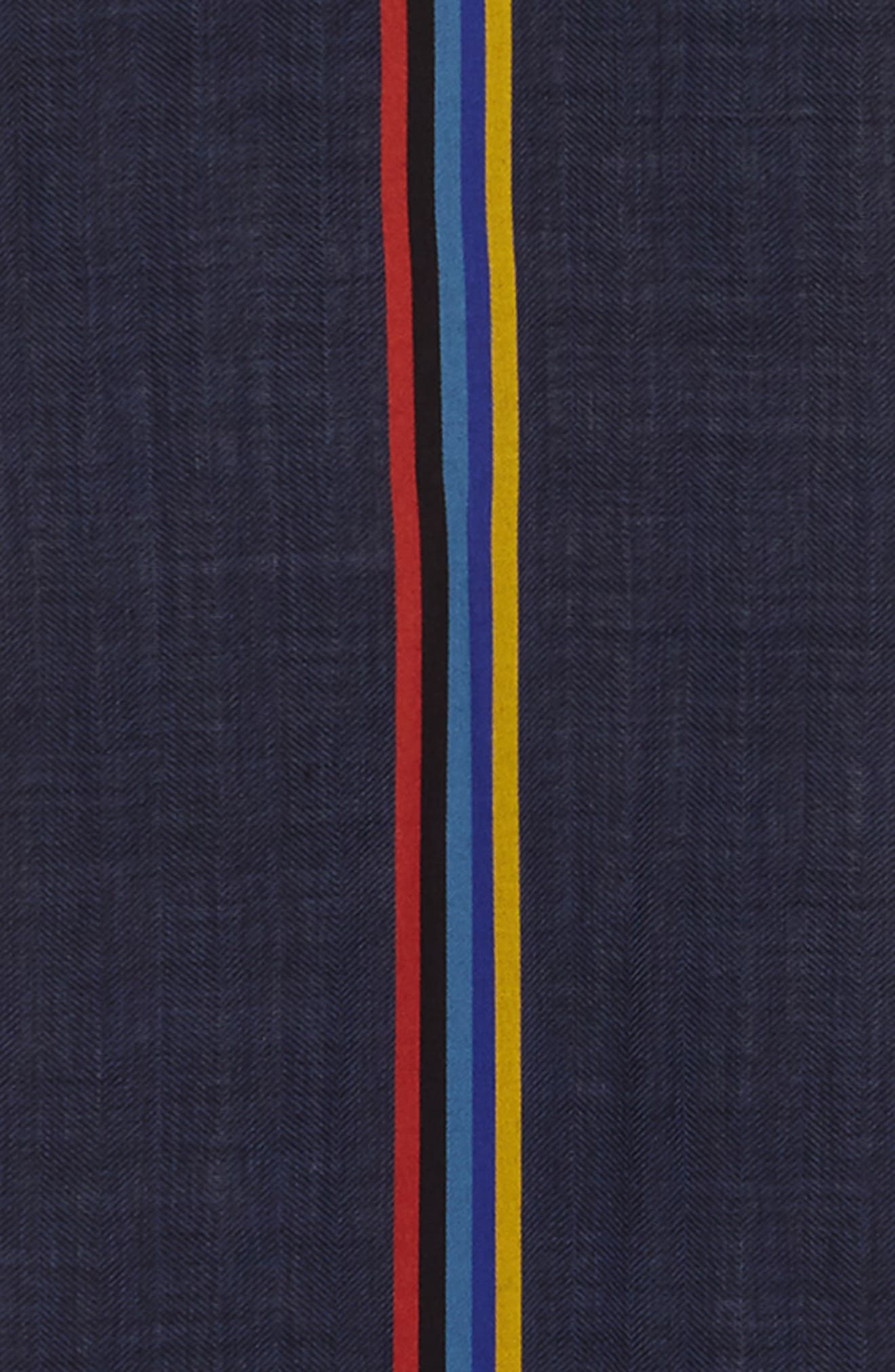 Alternate Image 3  - Paul Smith Stripe Wool Blend Scarf