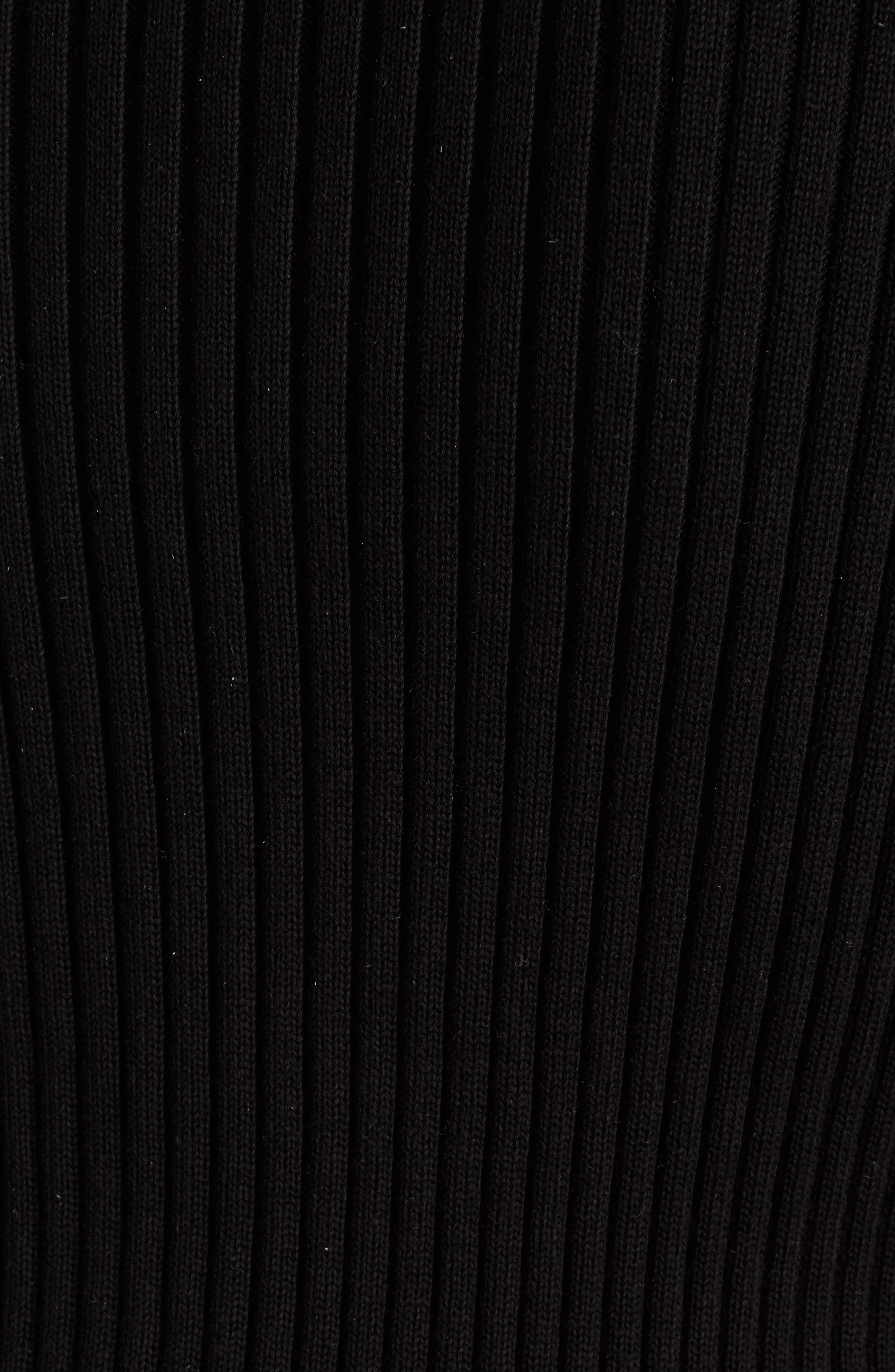 Alternate Image 5  - KENZO Knit Pullover Shirtdress