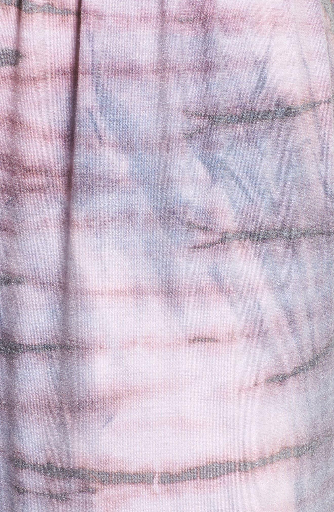 Harem Pants,                             Alternate thumbnail 6, color,                             Blush Tie Dye