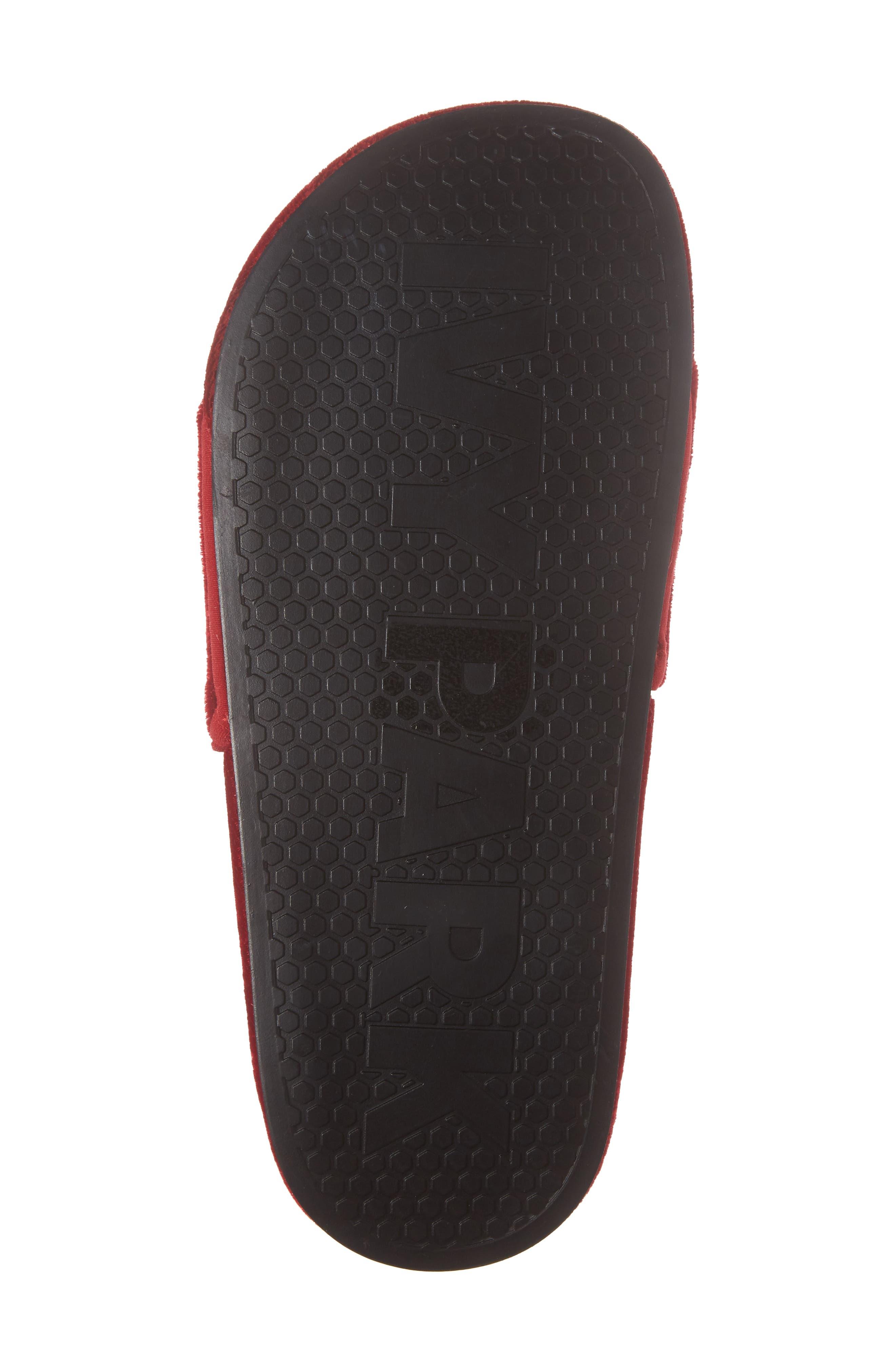 Alternate Image 6  - IVY PARK® Velvet Embossed Slide Sandal (Women)
