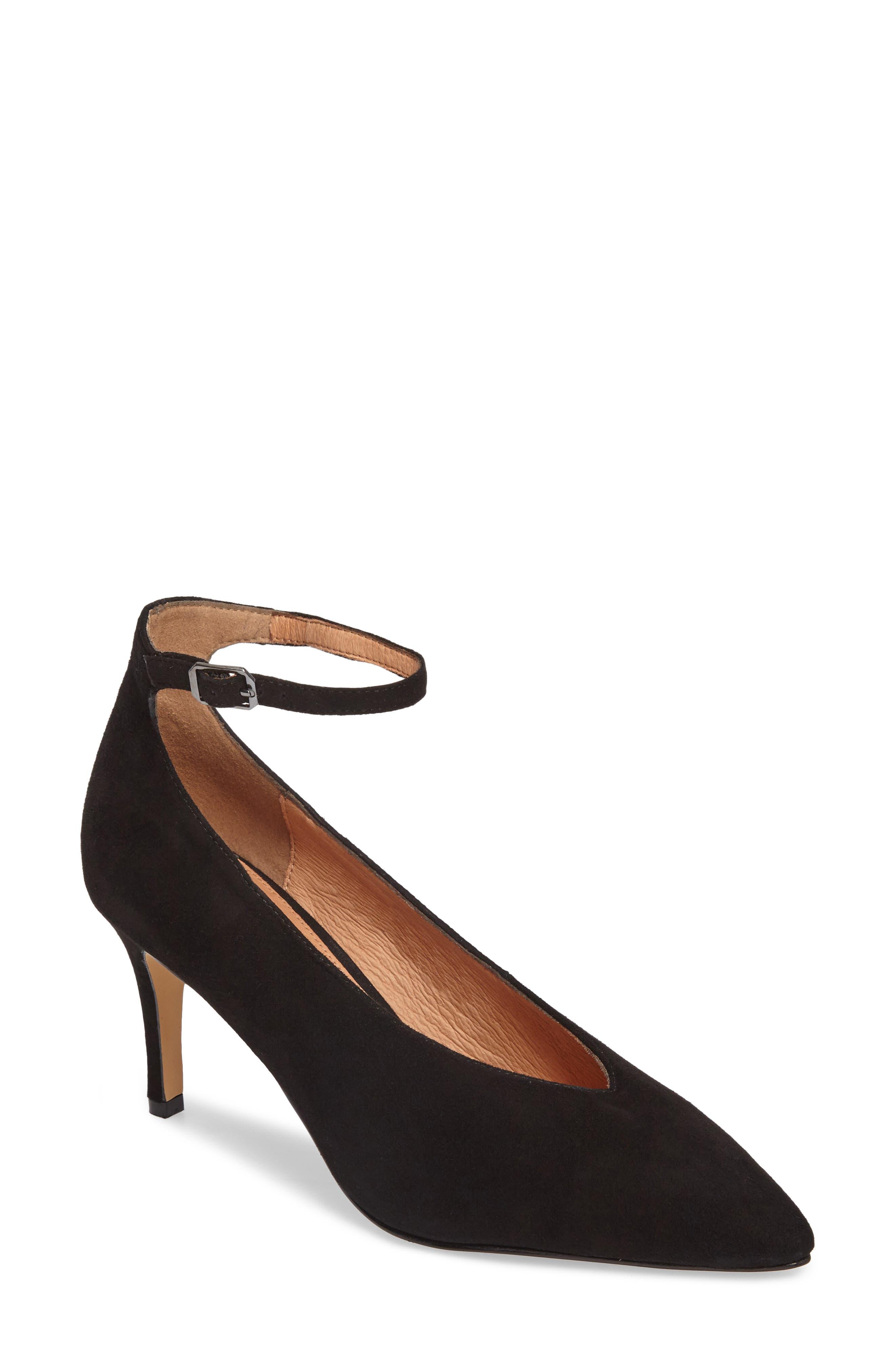 Halogen® Azaela Ankle Strap Pump (Women)