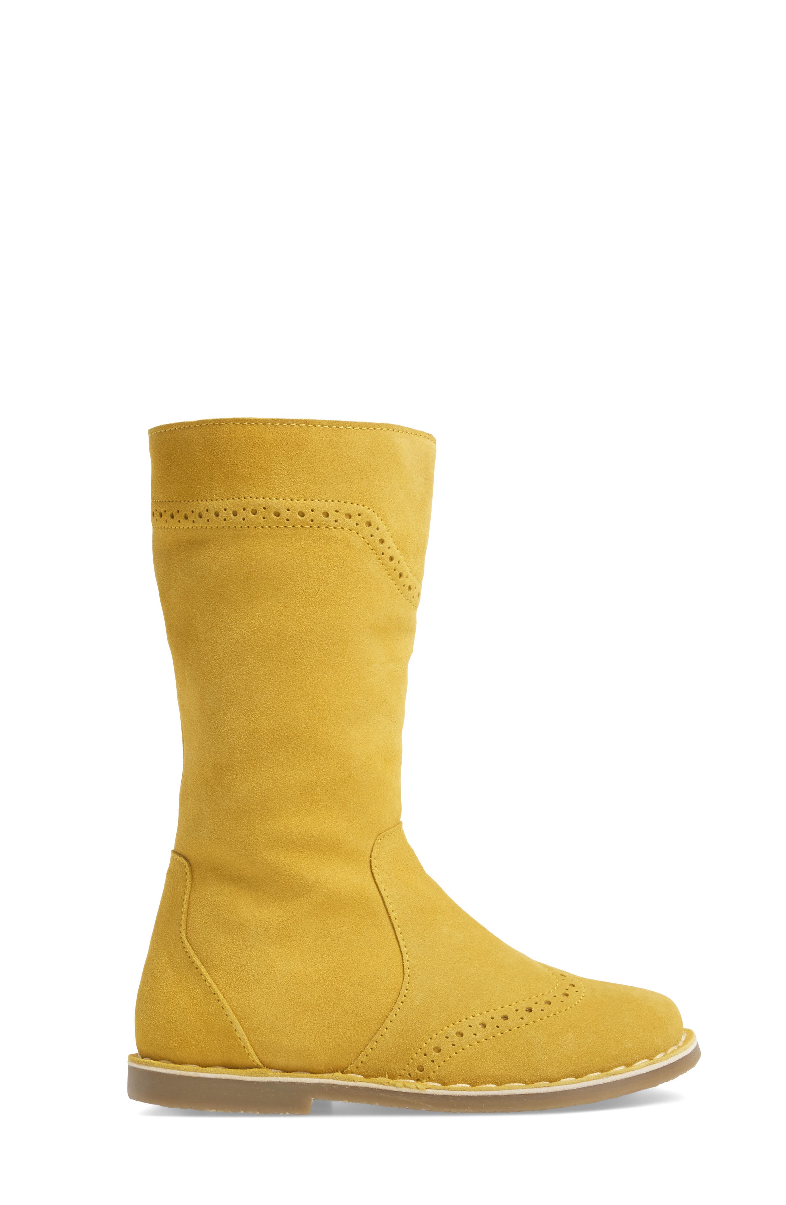 Alternate Image 3  - Mini Boden Tall Leather Boot (Toddler, Little Kid & Big Kid)