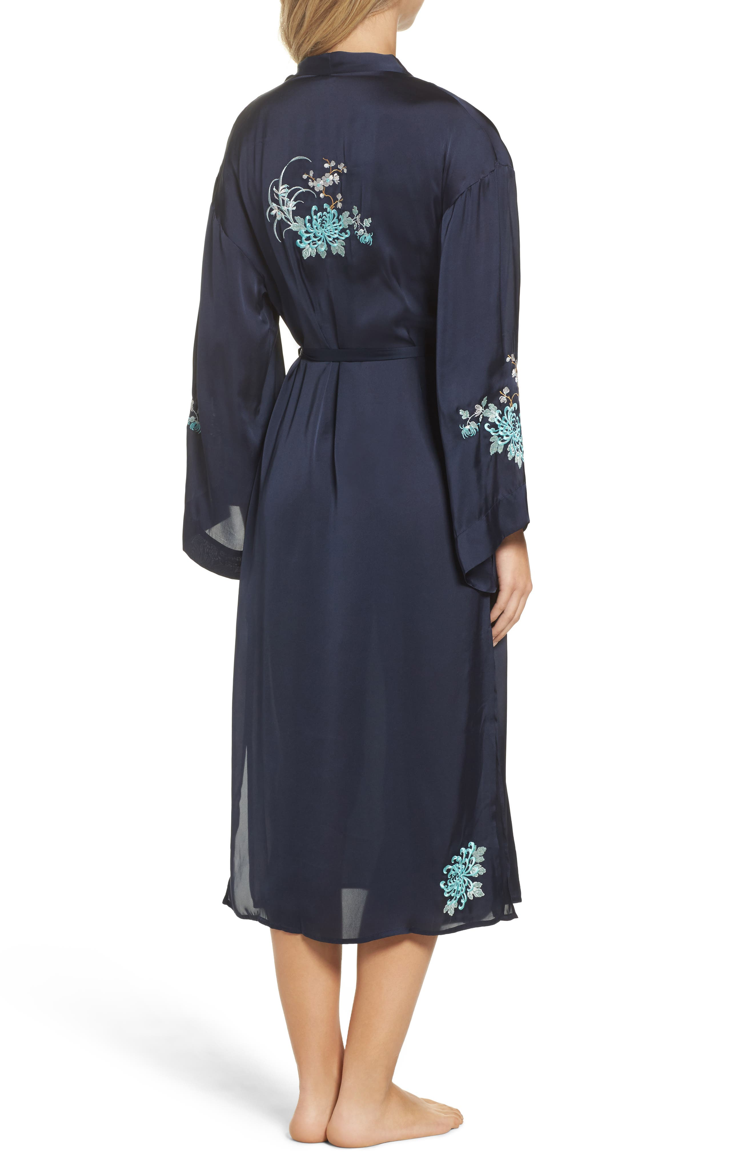 Alternate Image 2  - Chelsea28 Embroidered Long Robe