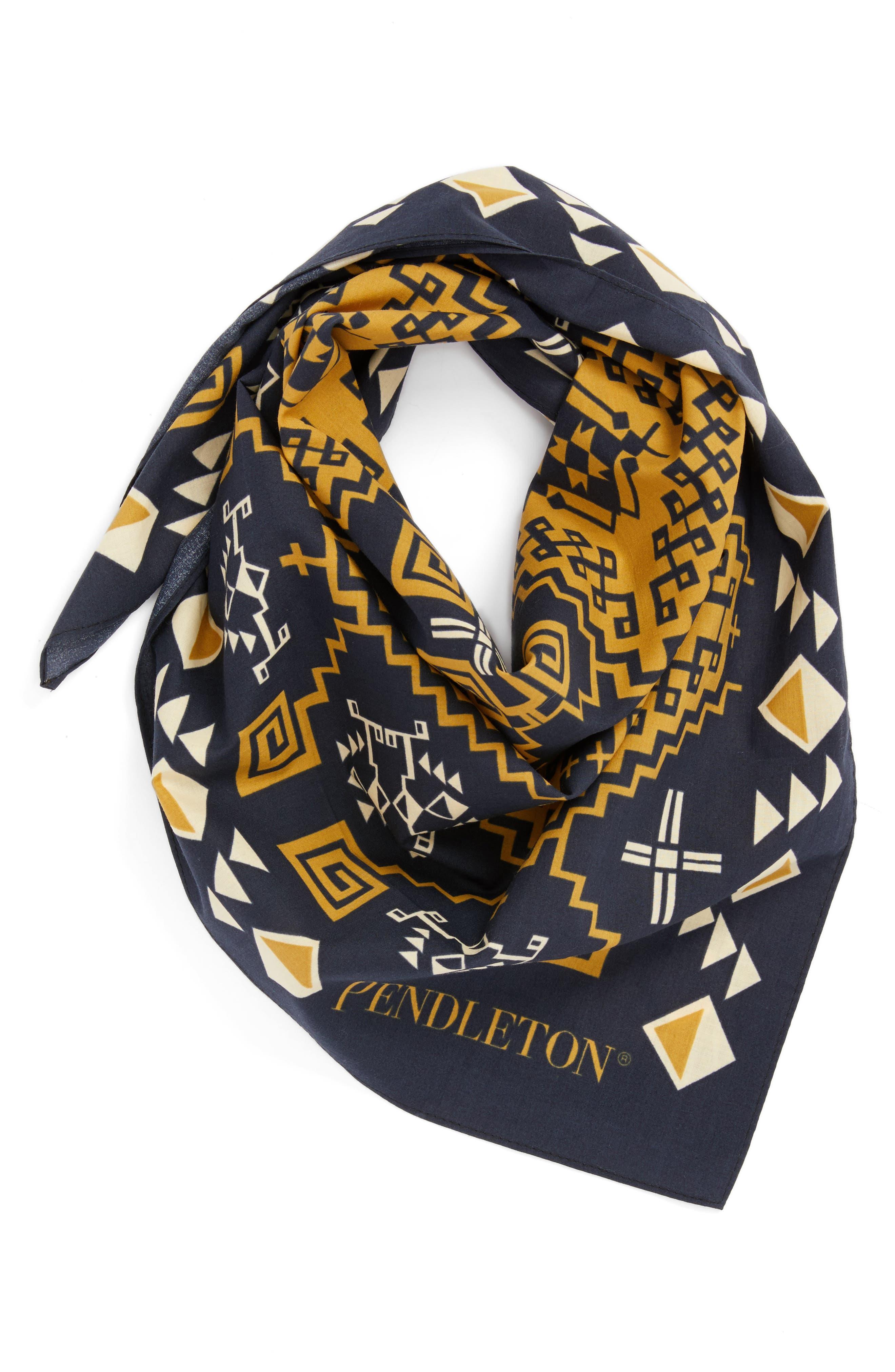 Main Image - Pendleton Jumbo Cotton Bandana