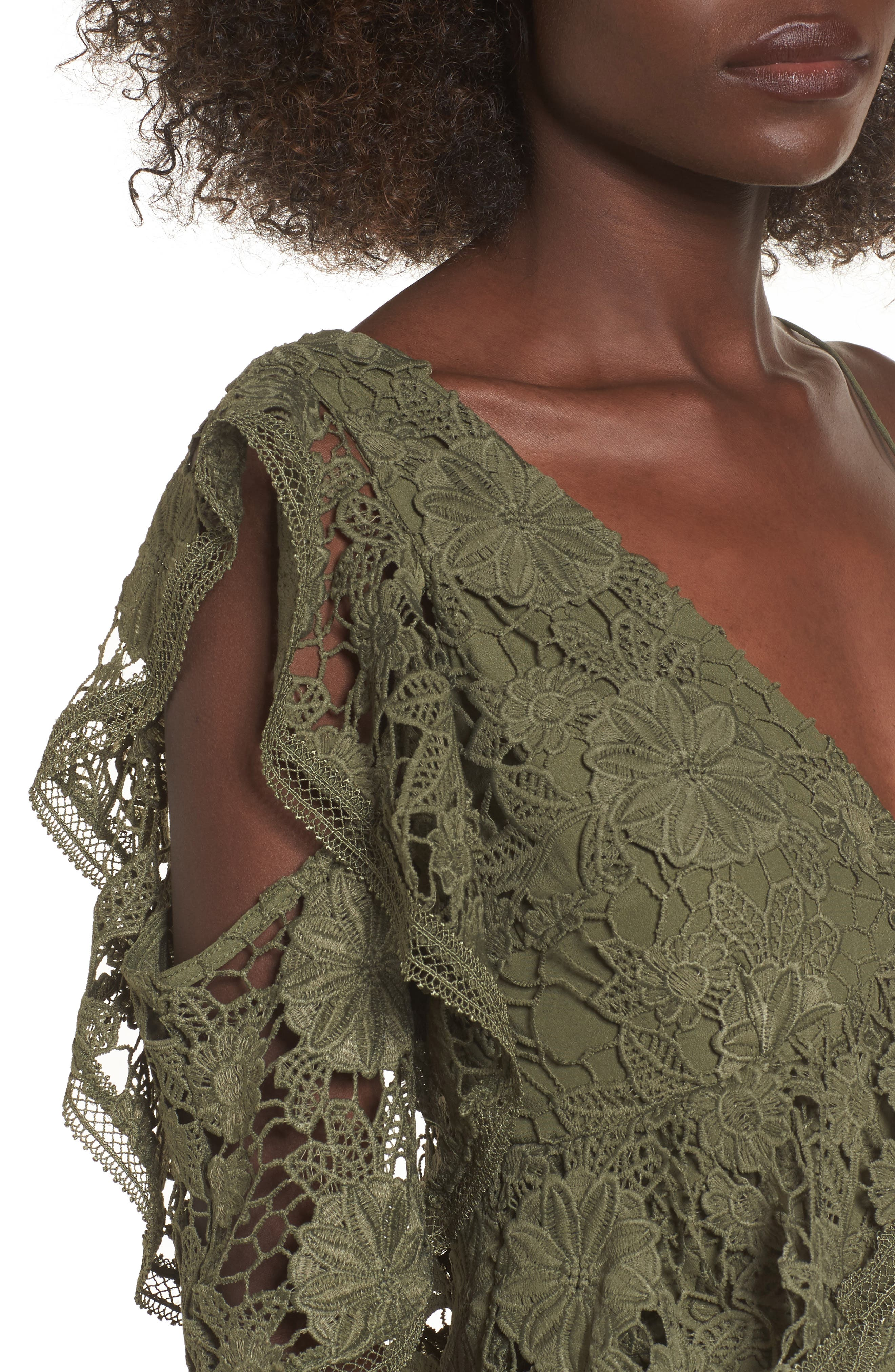 Alternate Image 5  - Keepsake the Label Frameless Lace Sheath Dress