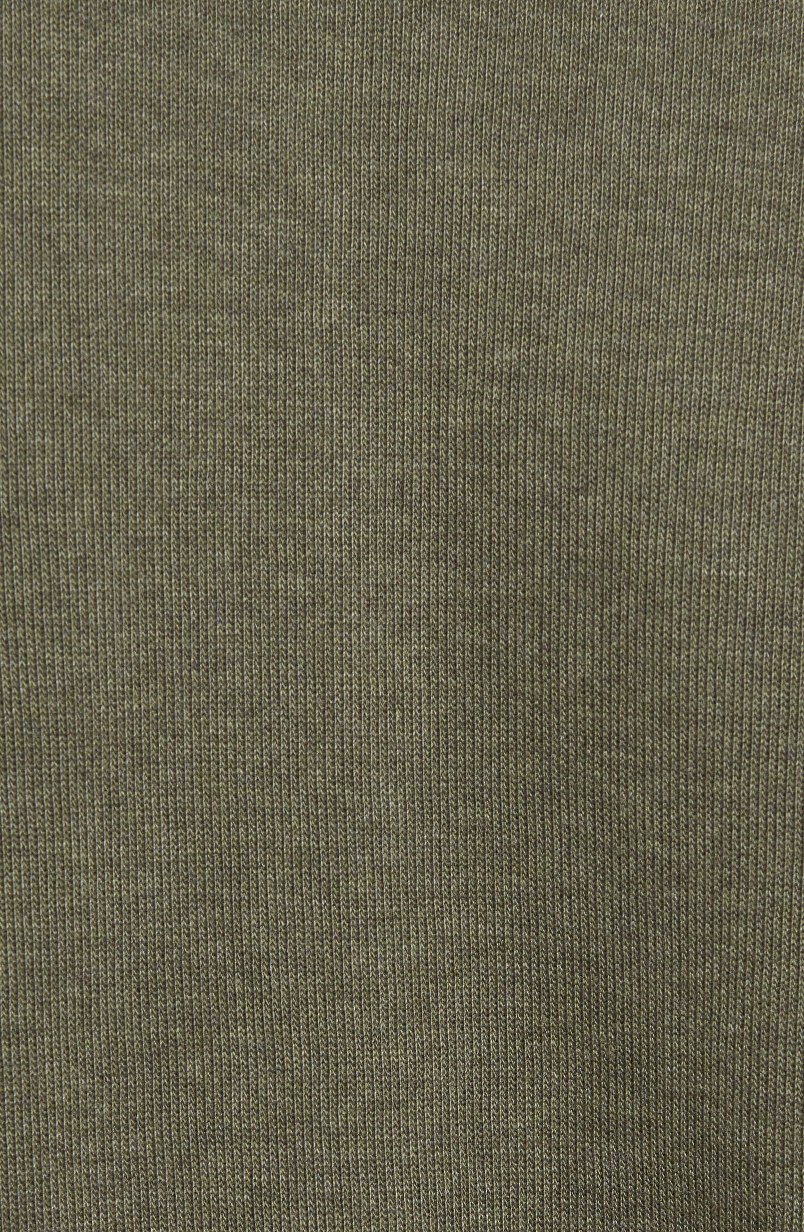 Quarter Zip Sweatshirt,                             Alternate thumbnail 5, color,                             2Qh Army/ Navy Blue