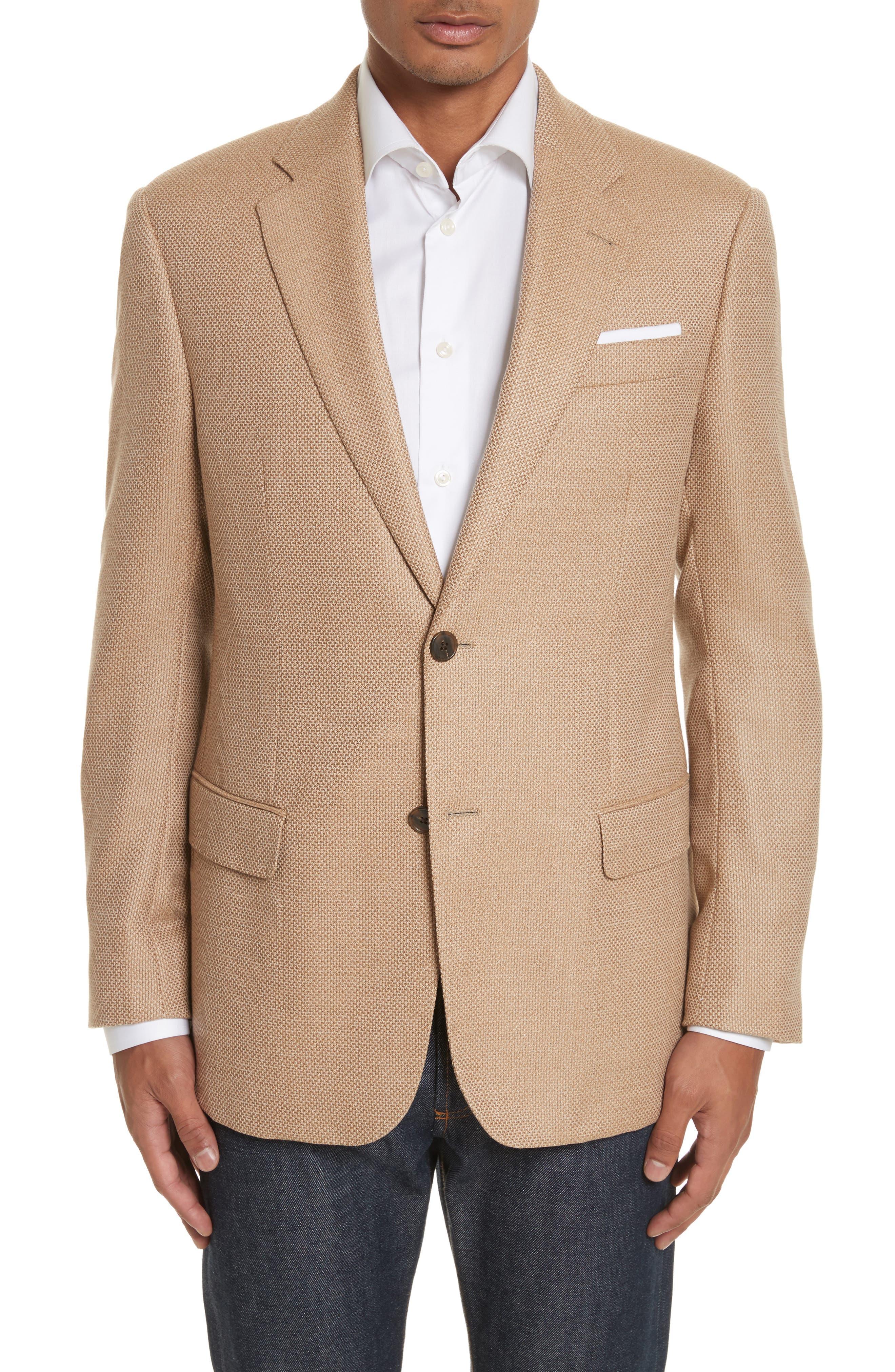 Armani Collezioni G-Line Trim Fit Wool Blazer