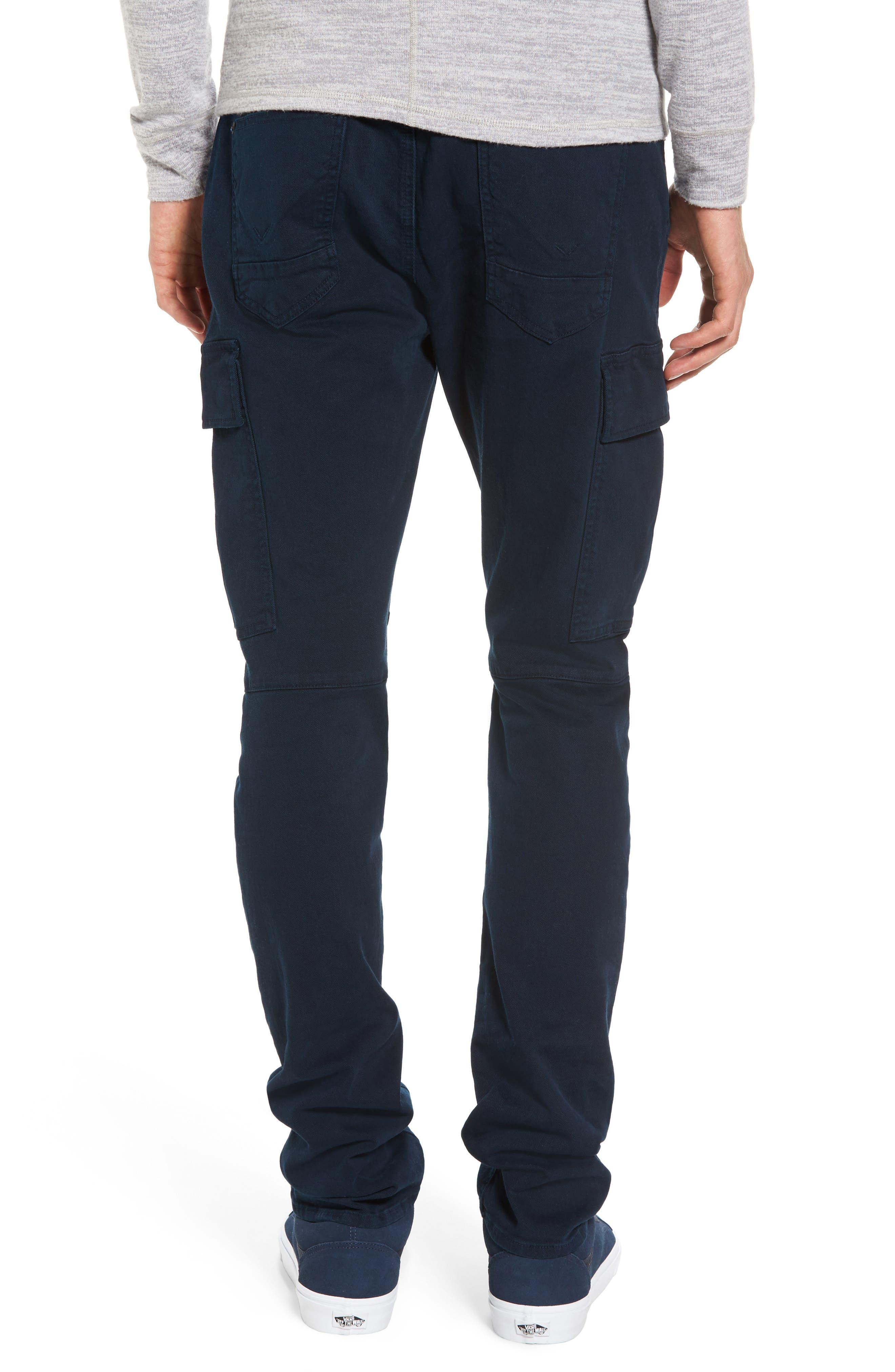 Greyson Cargo Biker Skinny Fit Jeans,                             Alternate thumbnail 2, color,                             Ink