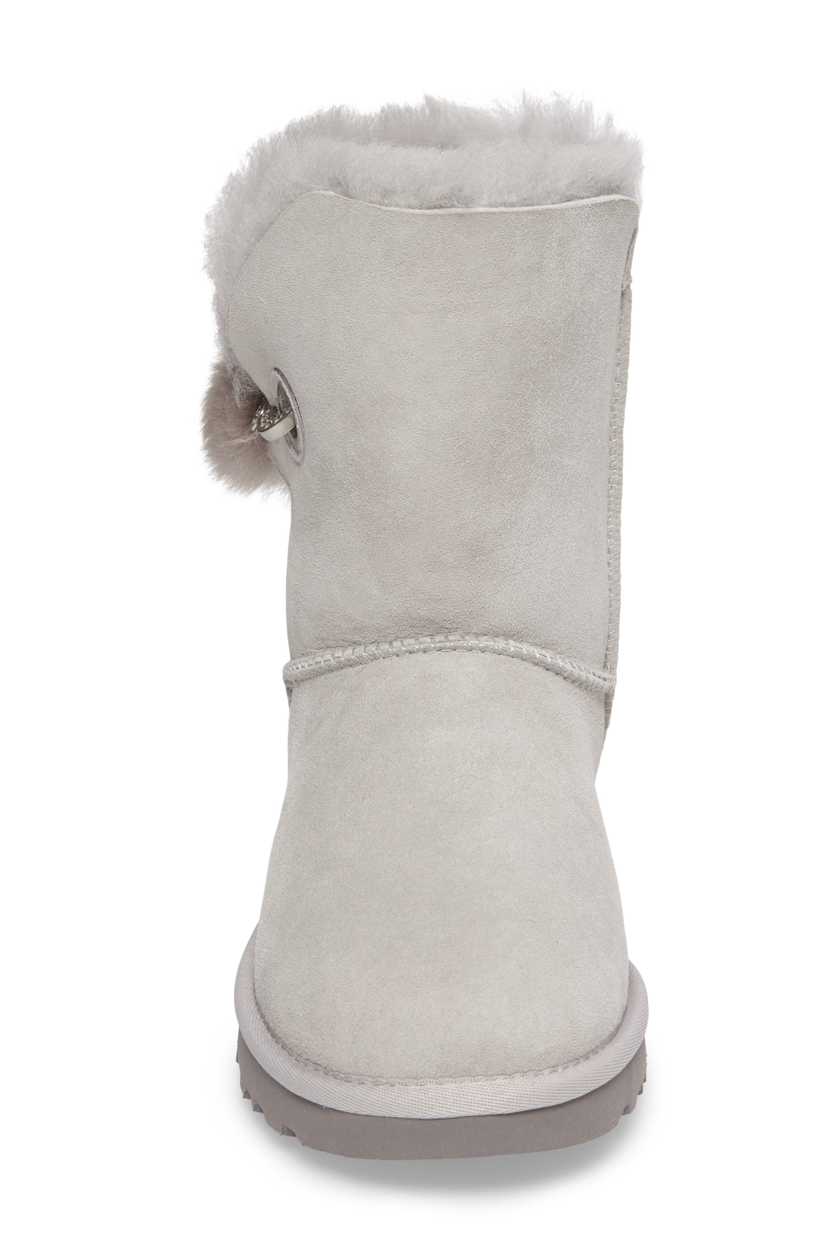 Irina Boot,                             Alternate thumbnail 4, color,                             Grey Violet Suede
