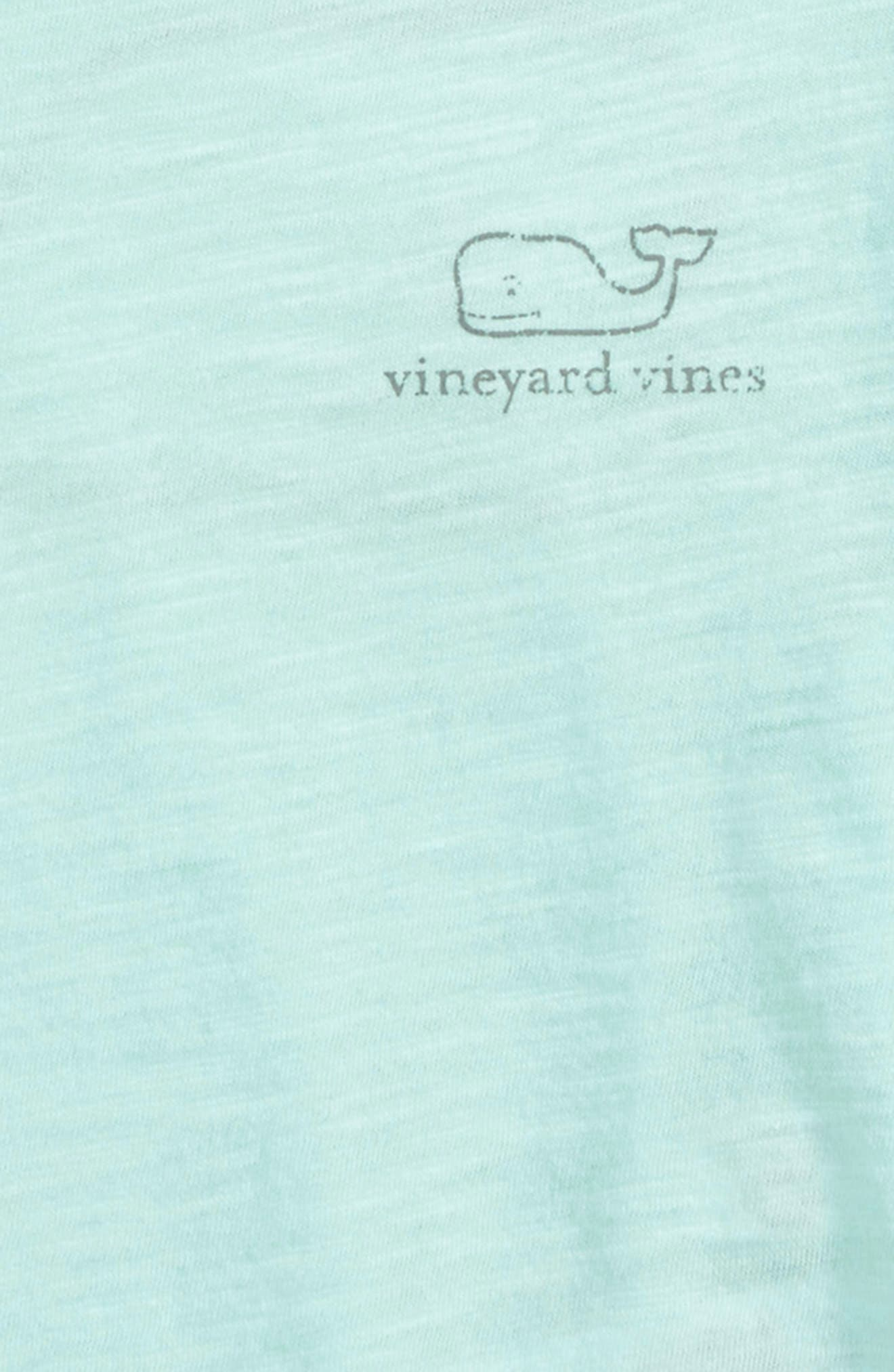 Alternate Image 3  - vineyard vines Slub Vintage Whale Tee (Toddler Girls)