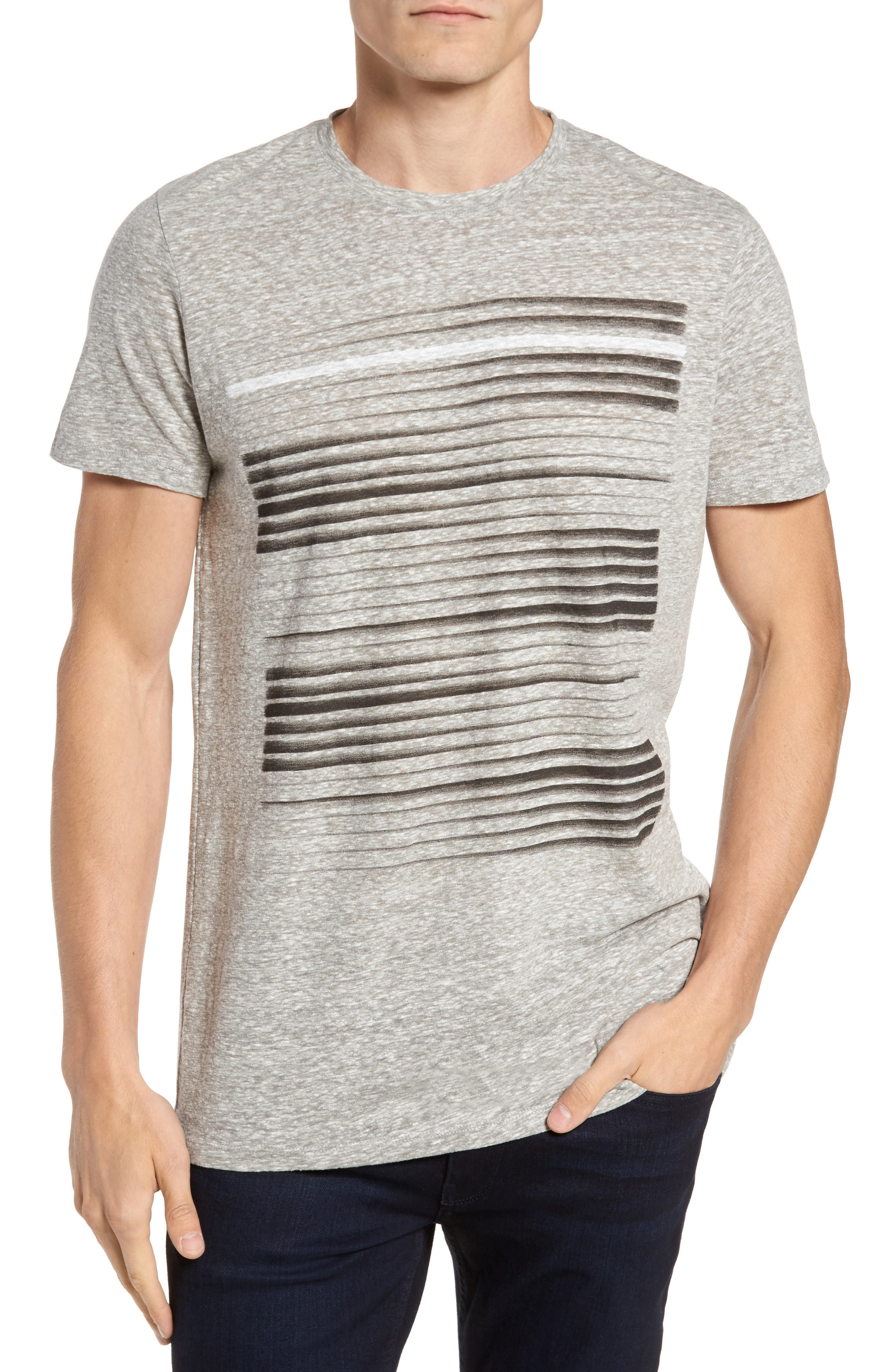 New Horizon T-Shirt,                         Main,                         color, Grey