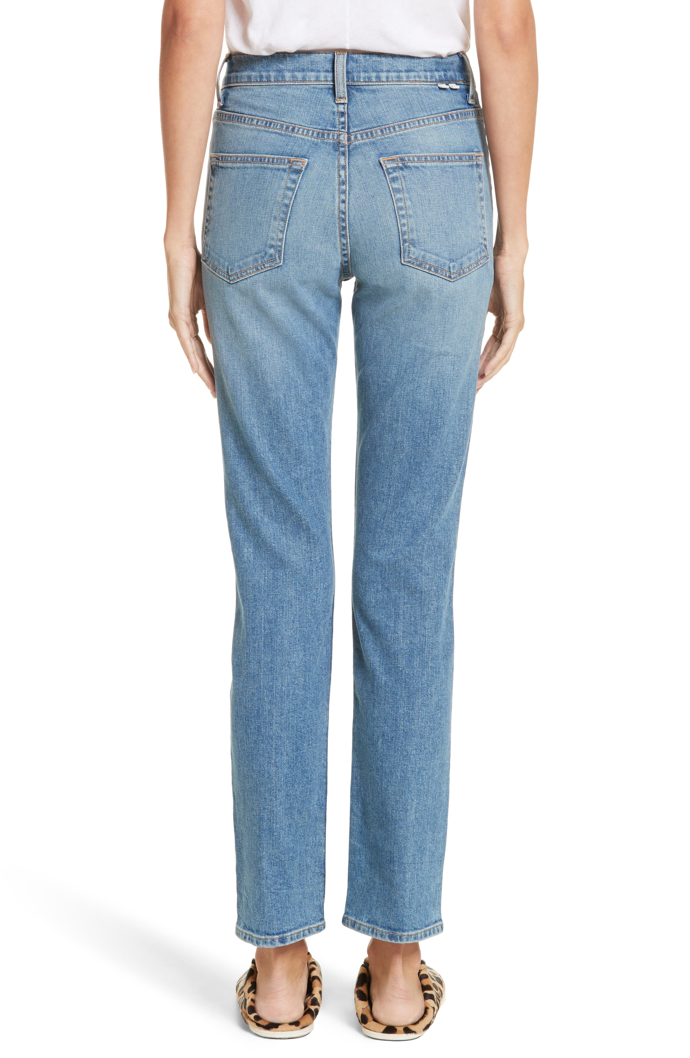 Alternate Image 2  - Proenza Schouler PSWL Straight Leg Jeans